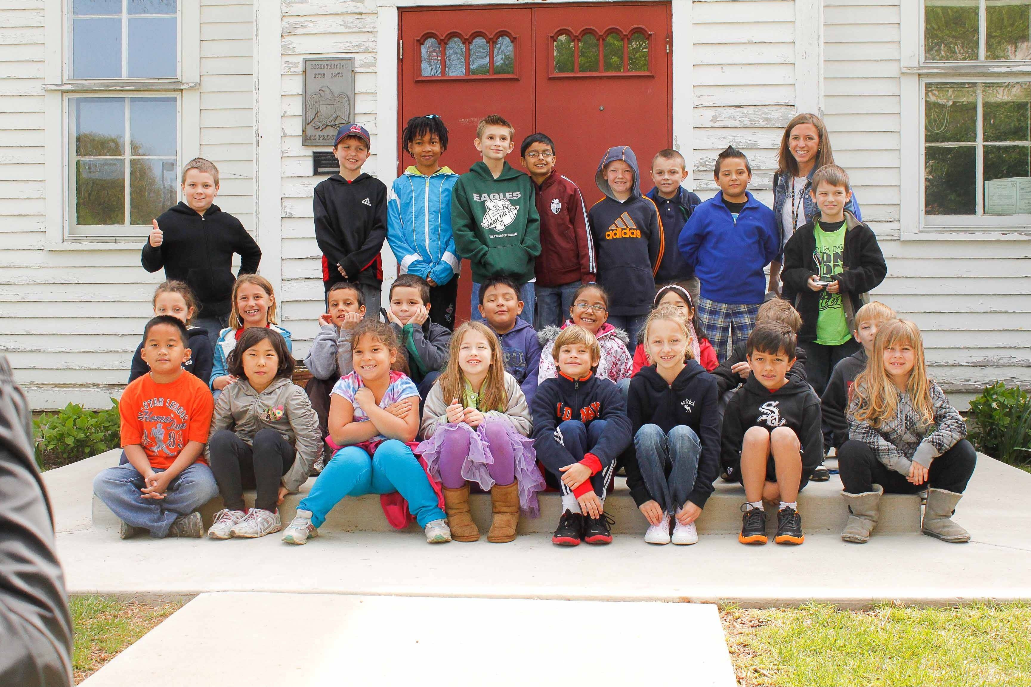 Second-graders from Lions Park School visit Central School on a recent field trip.