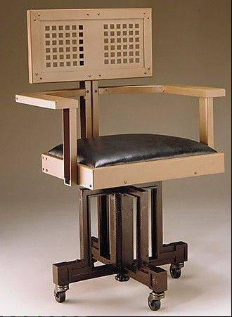 Frank Lloyd Wright's Larkin Building Executive Chair, 1904.