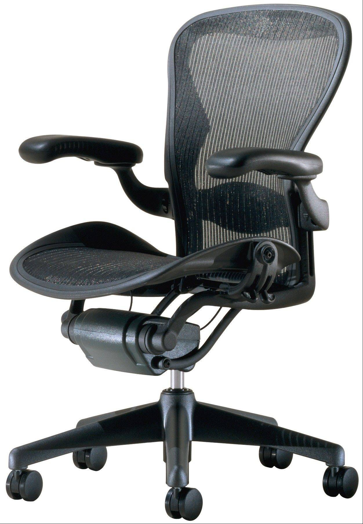 The Aeron Chair, 1994: Hello, Lumbar Support! Williams Stumpf and Donald Chadwick, Herman Miller.