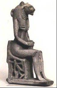 Although this piece from circa 712 B.C. came thousands of years after the first tilt seating in Egypt, it gives an idea of how a slight angle might have been used to aid the body.
