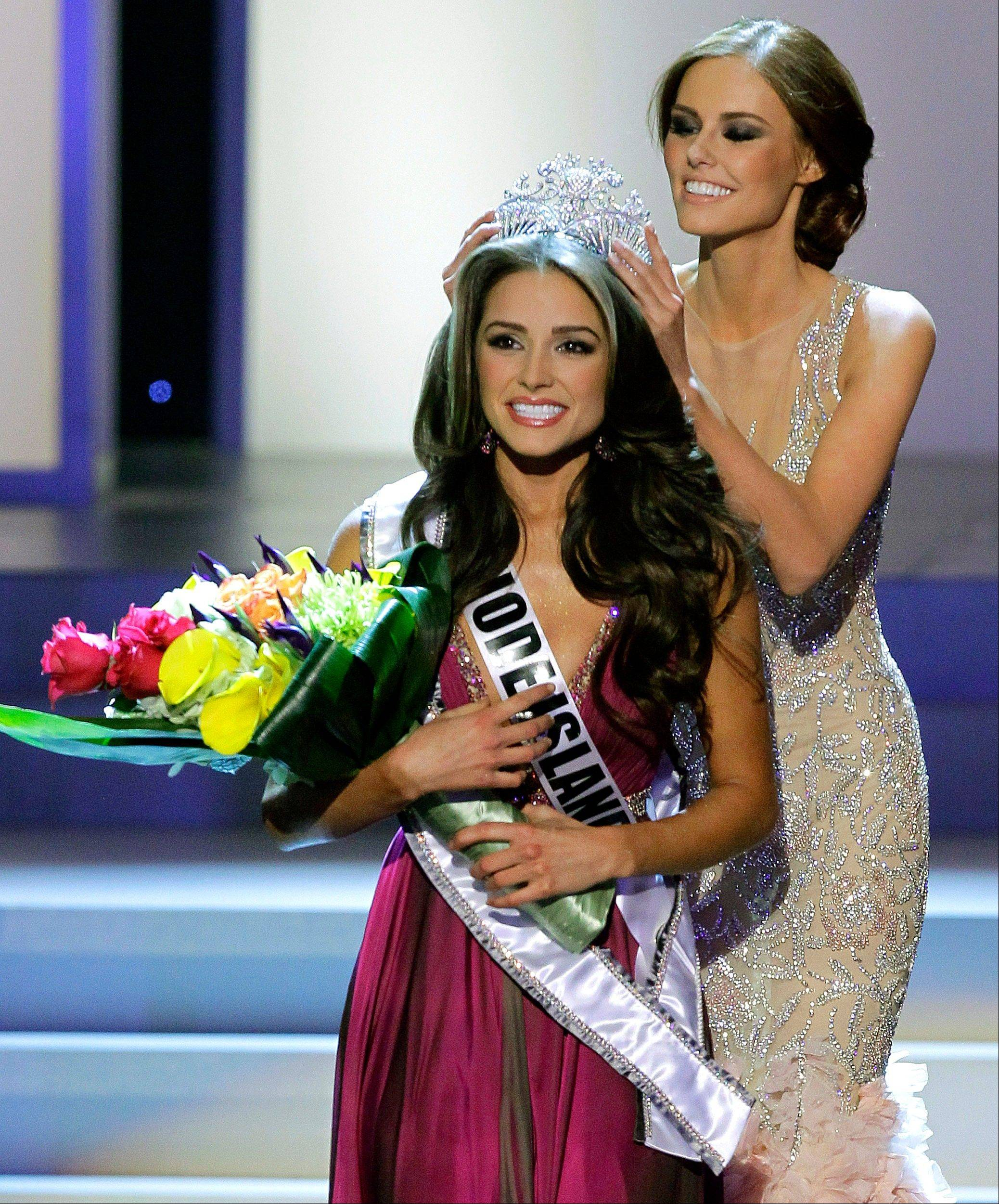 Miss Rhode Island Olivia Culpo is crowned Miss USA 2012 during the Miss USA pageant Sunday in Las Vegas.