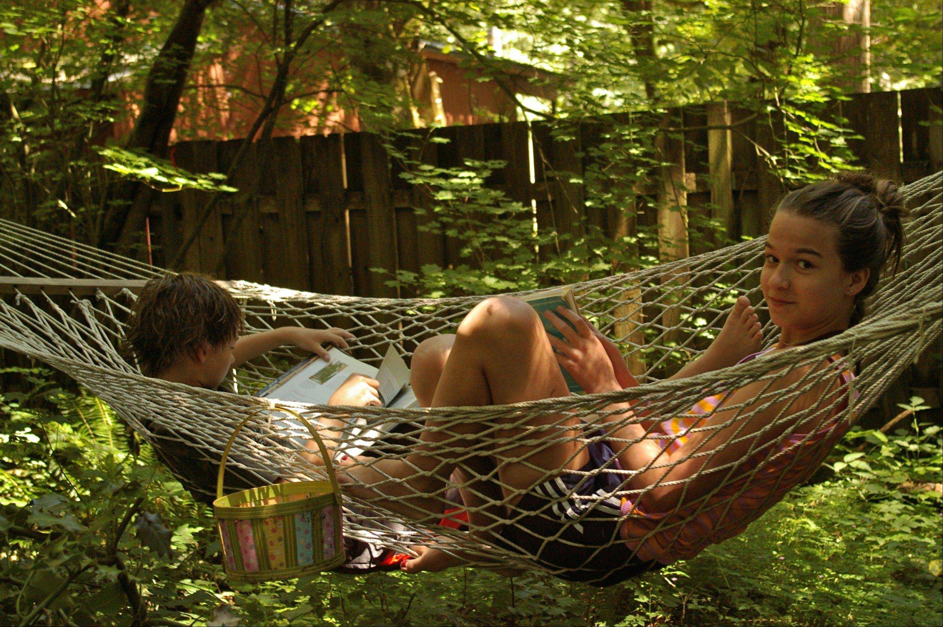 Those needing a little downtime will find it under a new shade tree and hammock off to the side.