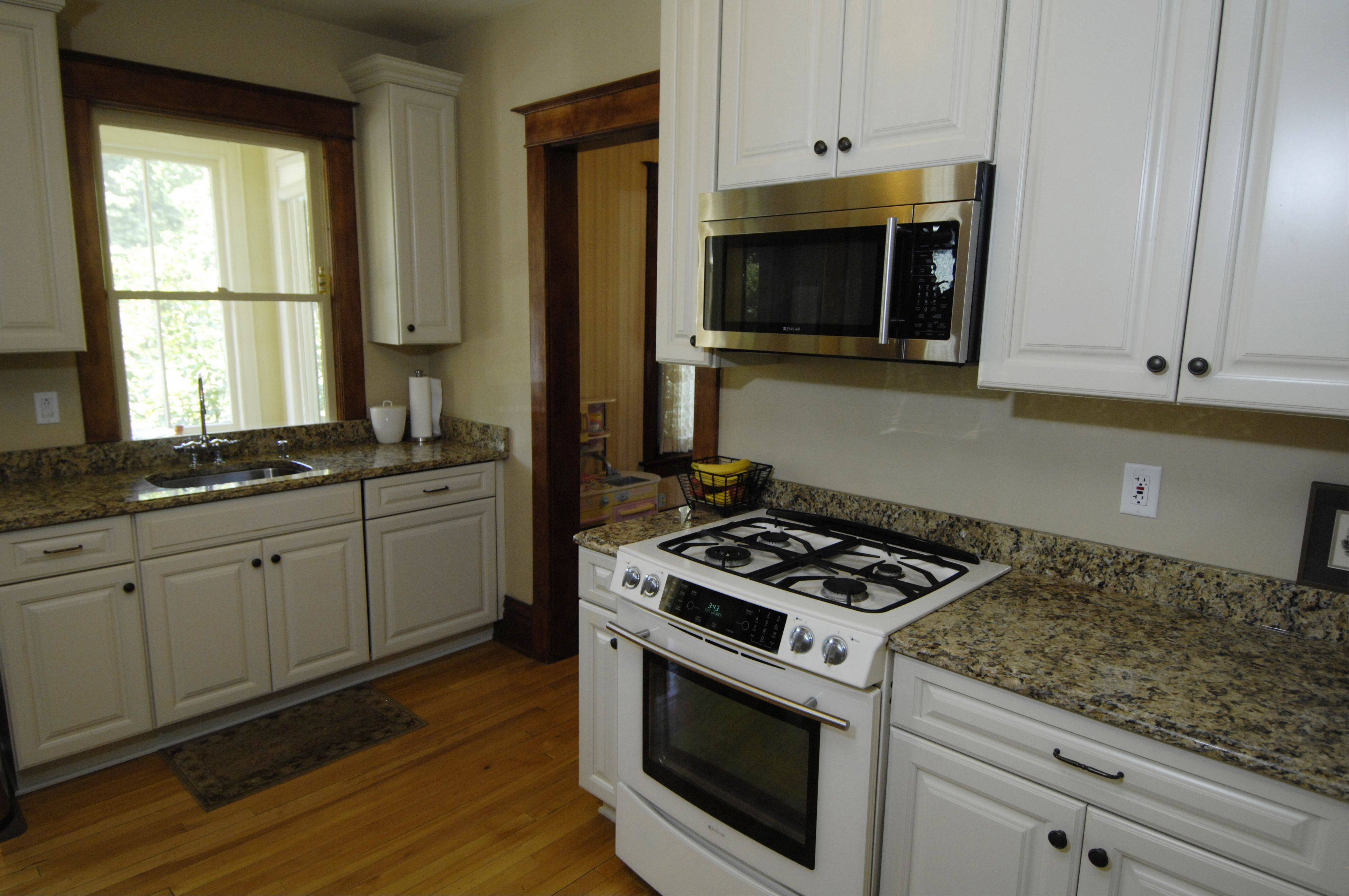 Redoing the kitchen was the major work the Brauns did in their Arlington Heights home.