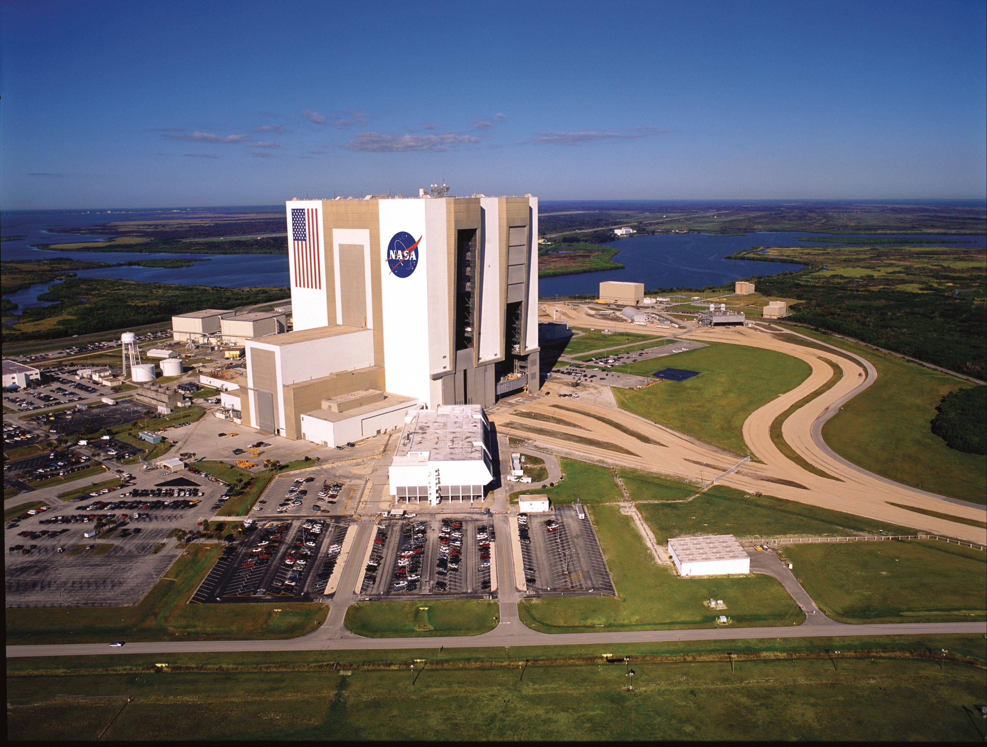The Kennedy Space Center Visitor Complex is offering rare behind-the-scenes tours for its 50th anniversary year, including a tour of the 525-foot-tall Vehicle Assembly Building where the Apollo rockets and space shuttles were assembled.