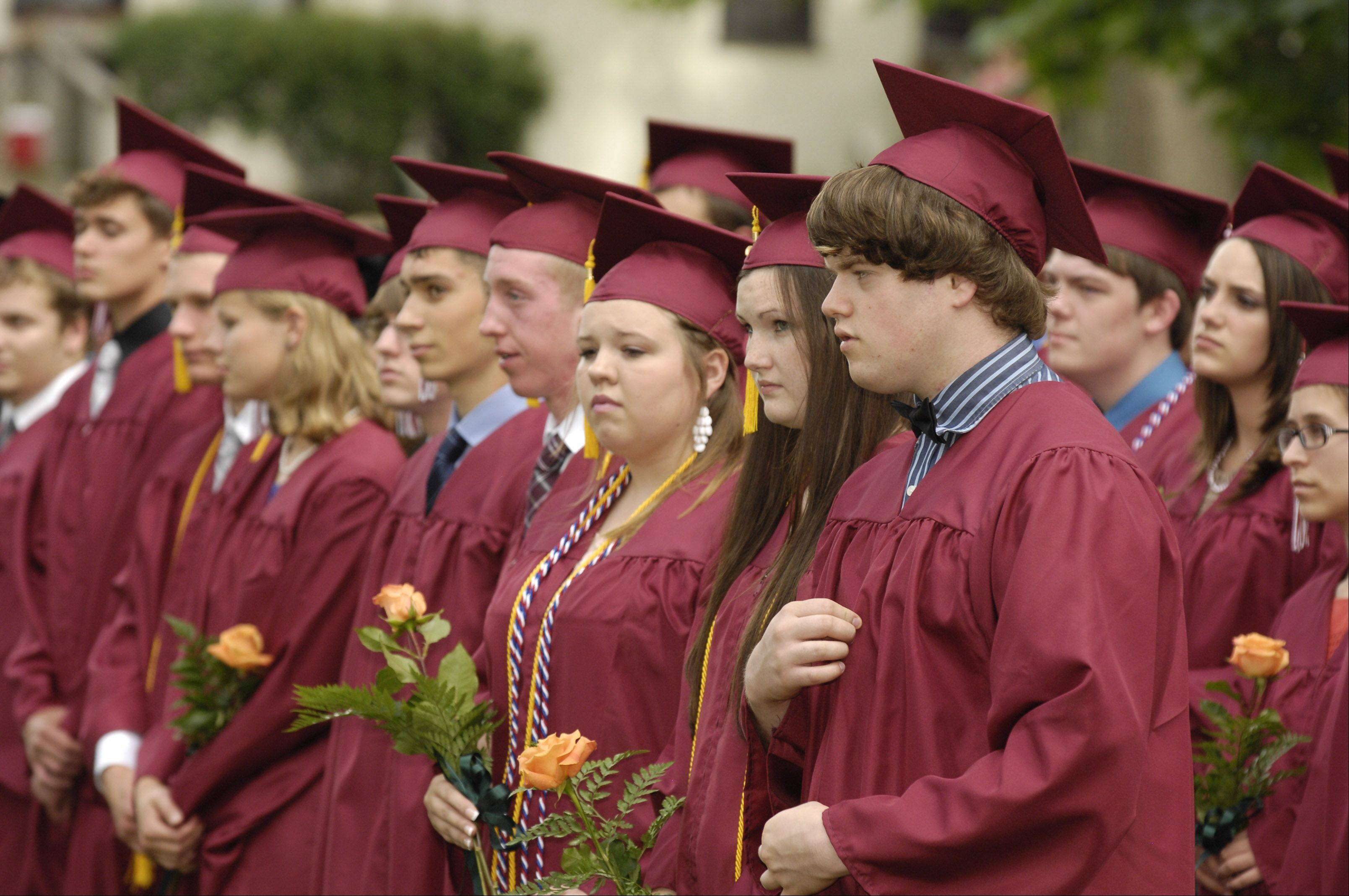 Wheaton Academy held its graduation Sunday June 3 at Wheaton Academy in West Chicago.