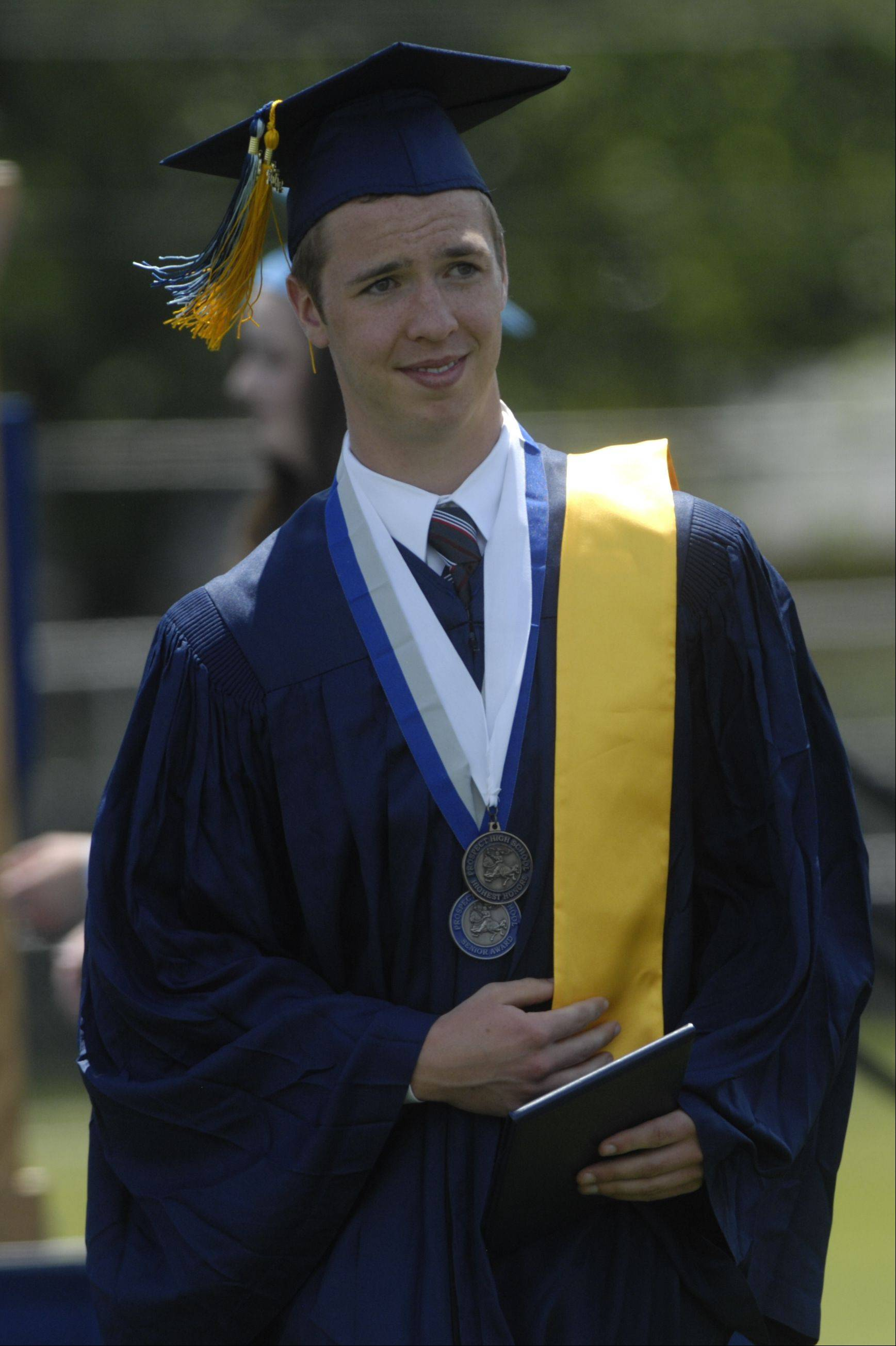 Images from the Prospect High School graduation on Sunday, June 3rd in Mount Prospect.