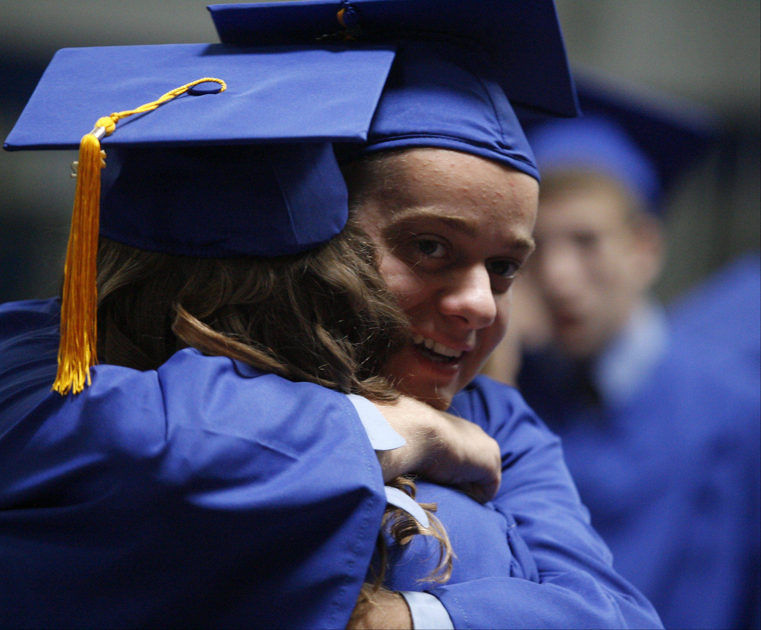 Images from the Wheeling High School graduation on Sunday, June 3rd in Wheeling.