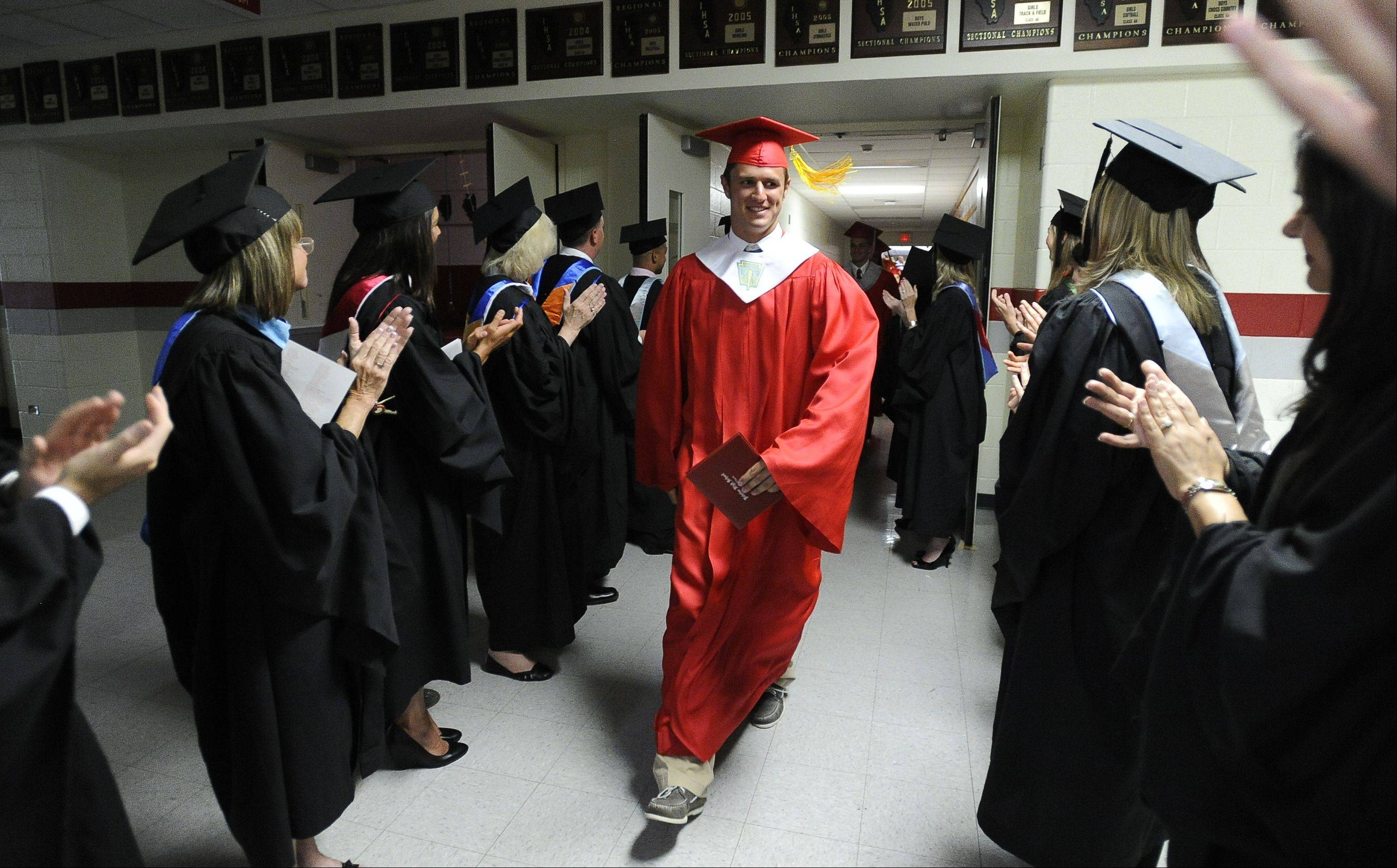 Images from the Palatine High School graduation on Sunday, June 3rd in Palatine.