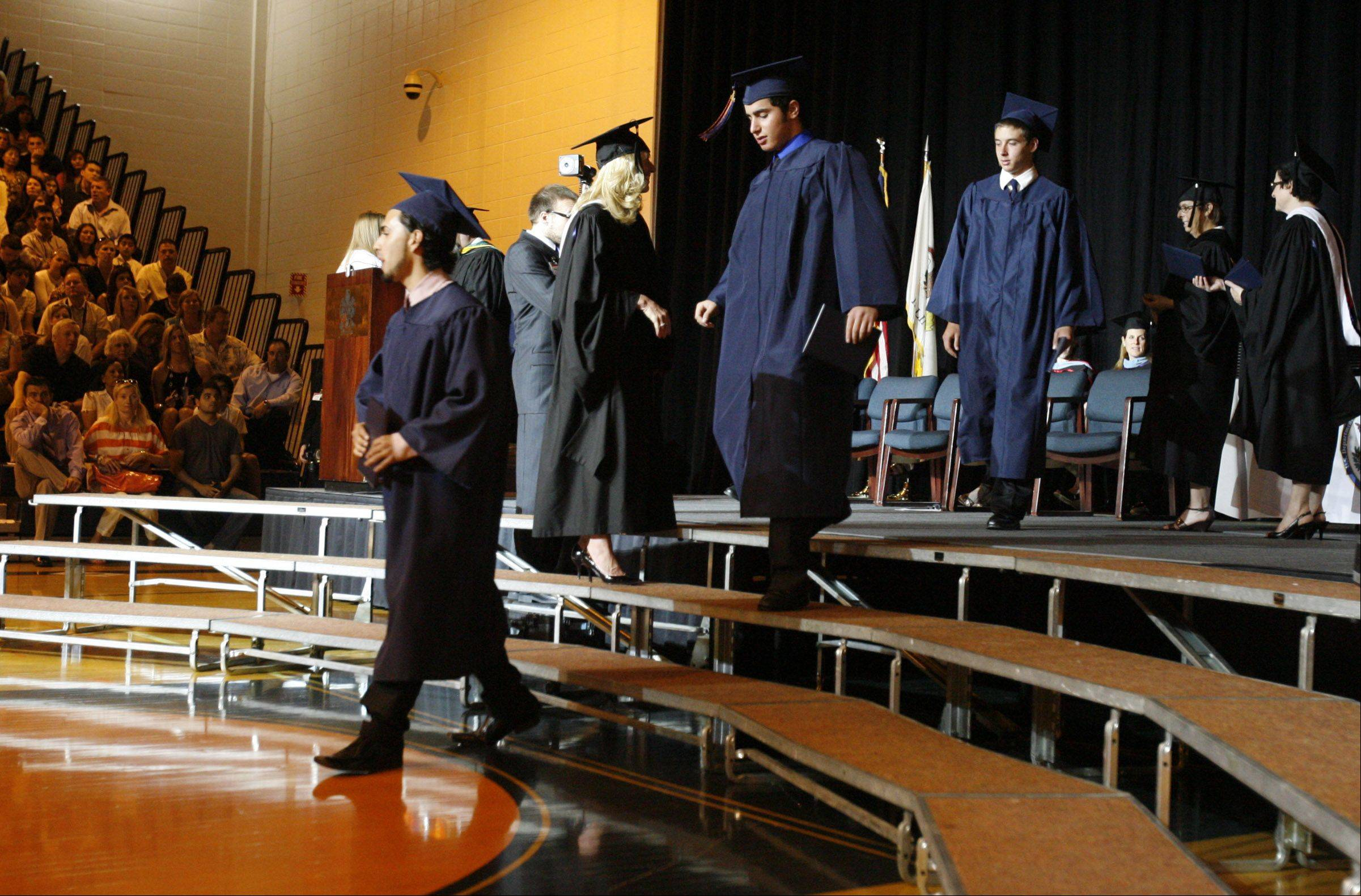 Images from the Buffalo Grove High School graduation on Sunday, June 3rd in Buffalo Grove.