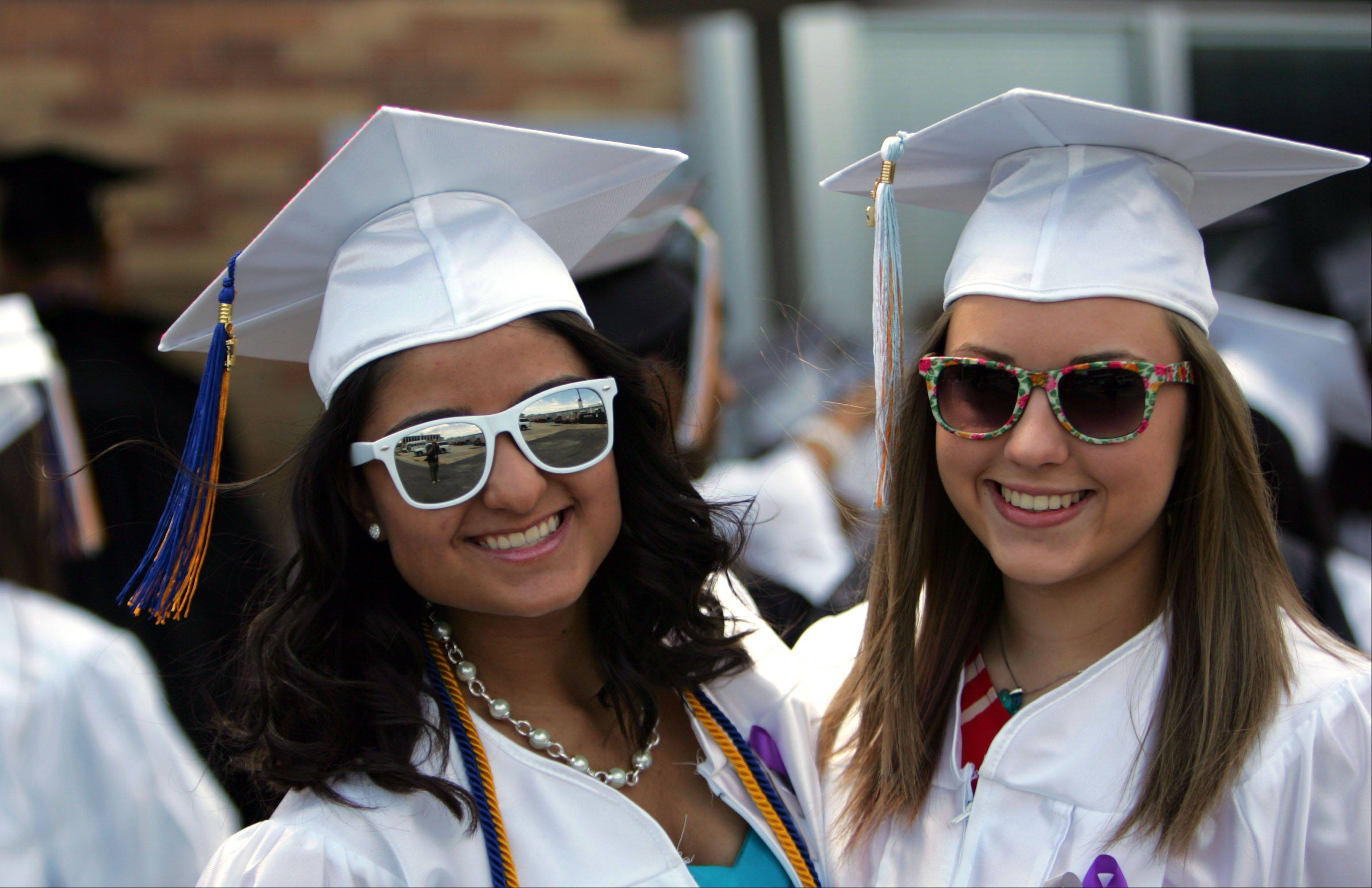 Images from the Maine West High School graduation on Sunday, June 3rd in Des Plaines.