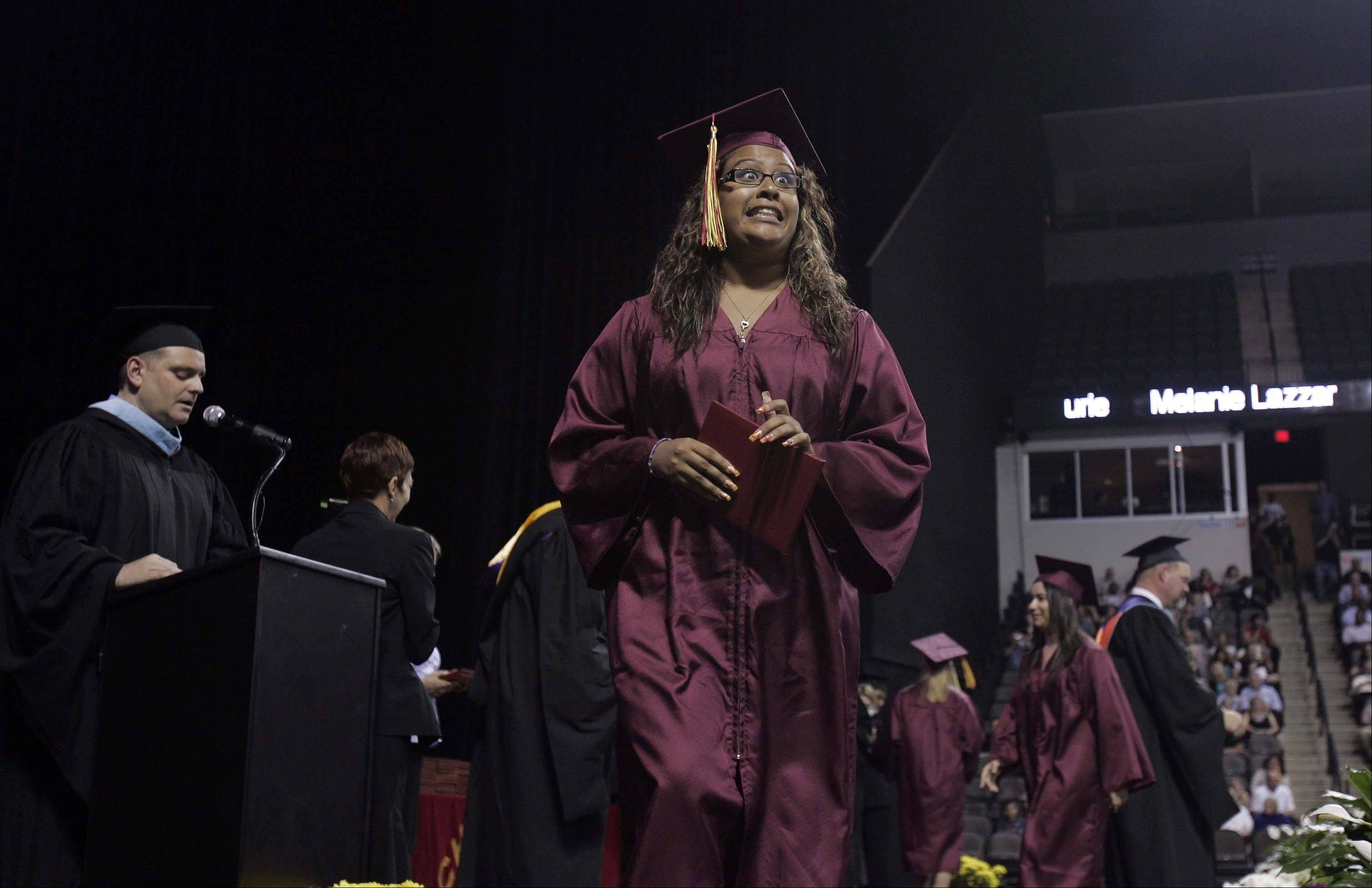 Images from the Schaumburg High School graduation on Sunday, June 3rd at the Sears Centre in Hoffman Estates.