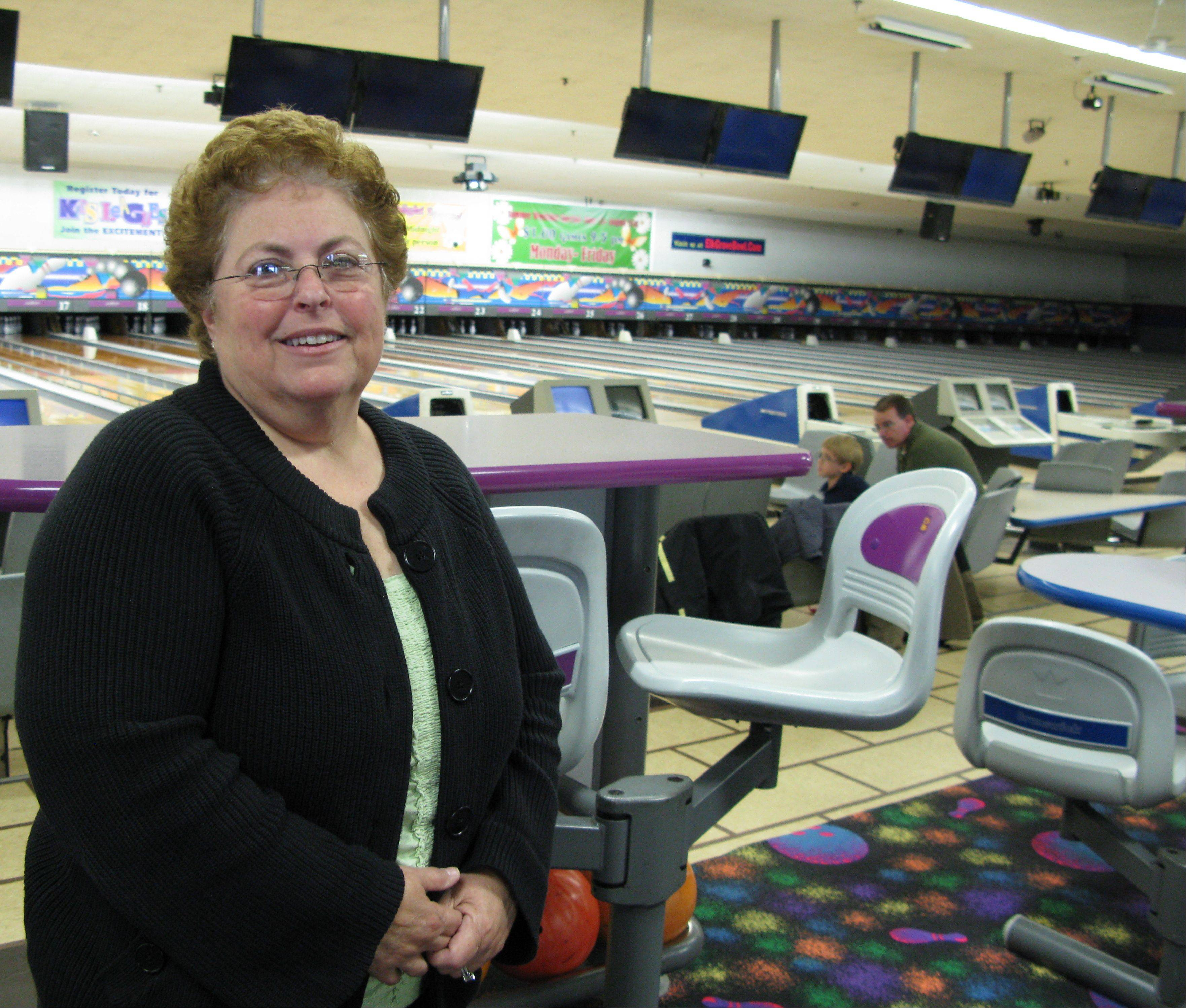 Debbie Handler, who operates the family-owned Elk Grove Bowl, is betting on video gambling to help her business stay afloat. The Elk Grove Village Board is expected to vote on whether to allow video gambling on June 19.