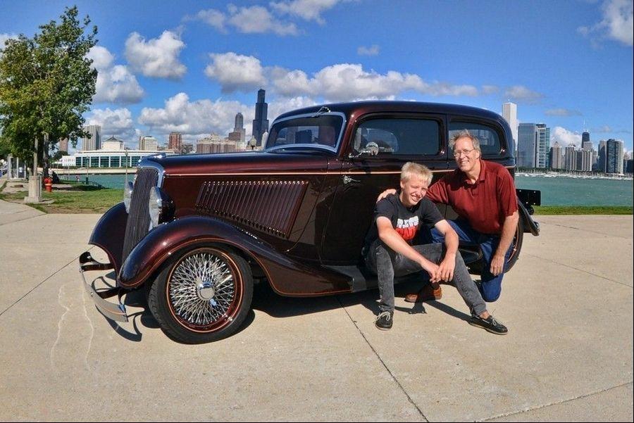 1934 Ford Model B Tudor poses a challenge