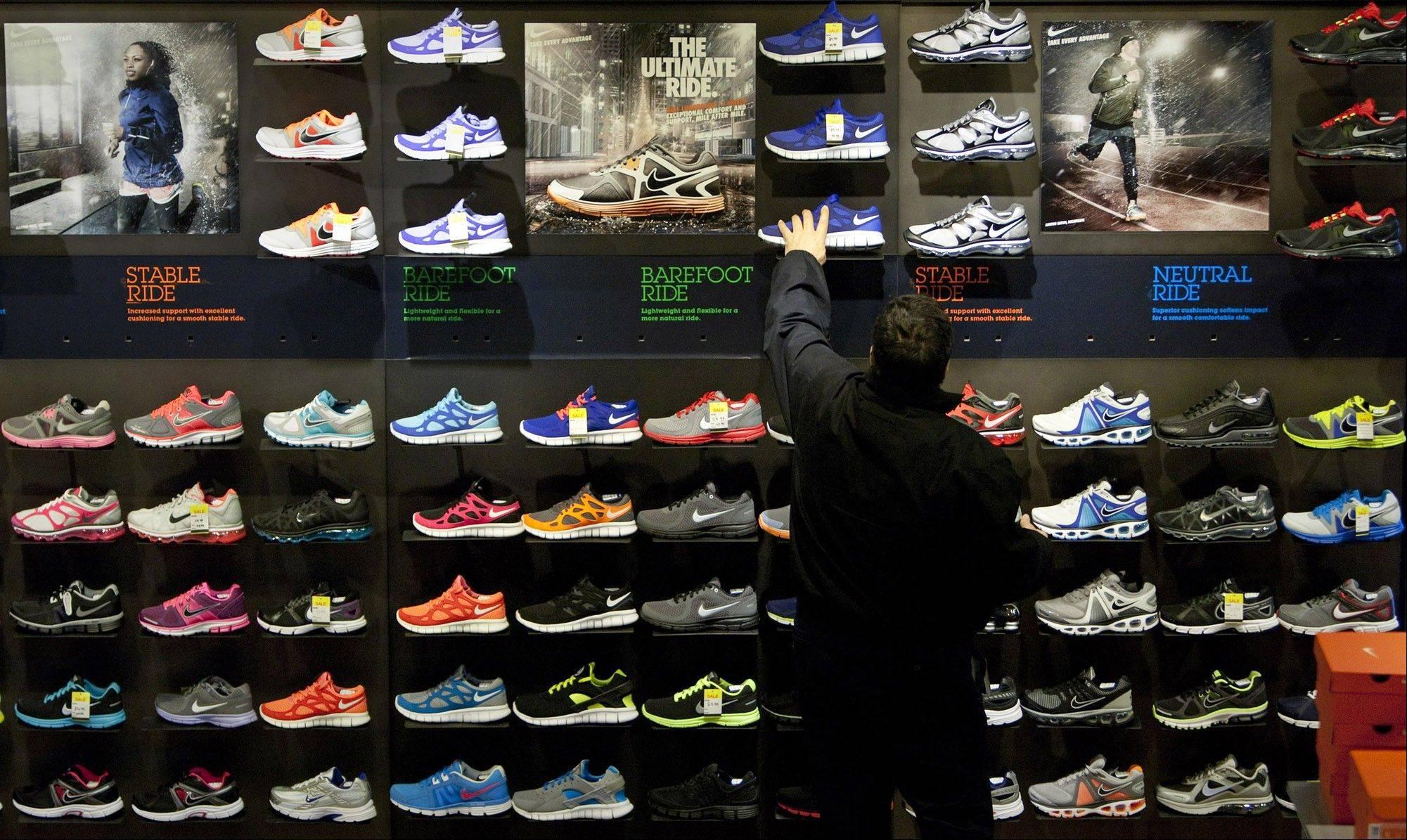 modells nike shoes