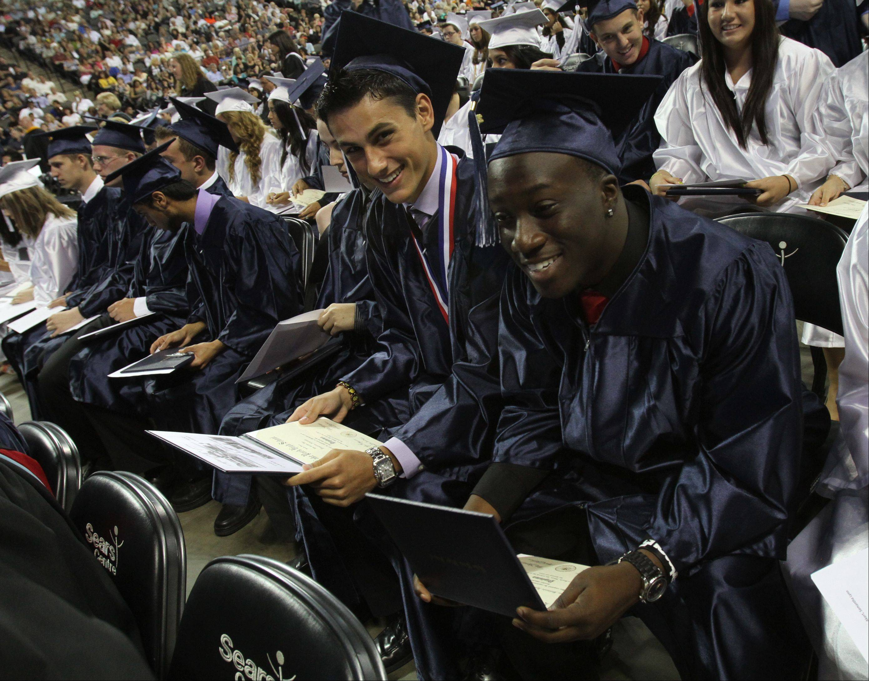 The Lake Park class of 2012 held its graduation ceremony at the Sears Centre in Hoffman Estates on Monday, June 4.