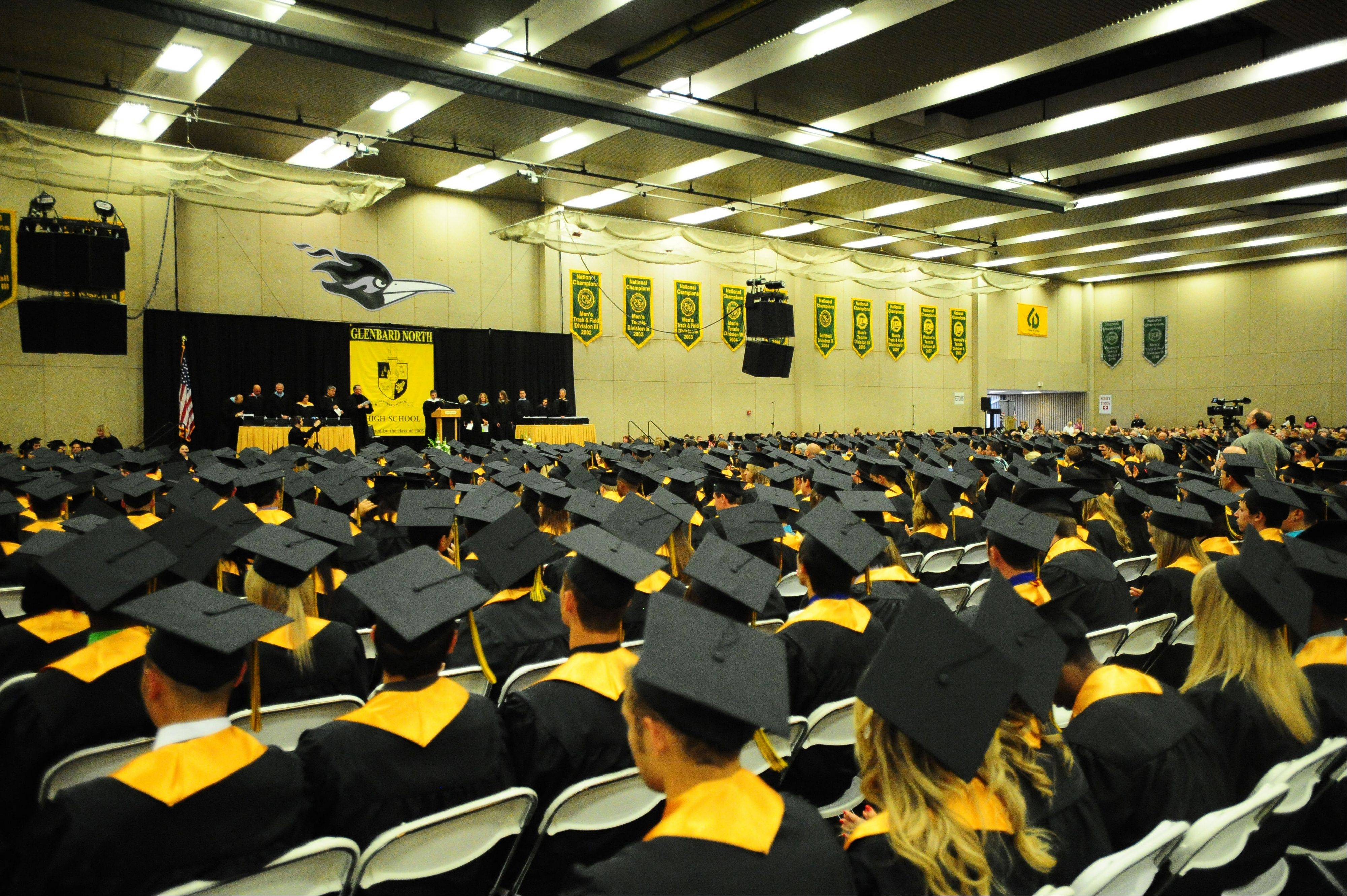 Glenbard North High School held its graduation Sunday June 3 at Glenbard North in Carol Stream.