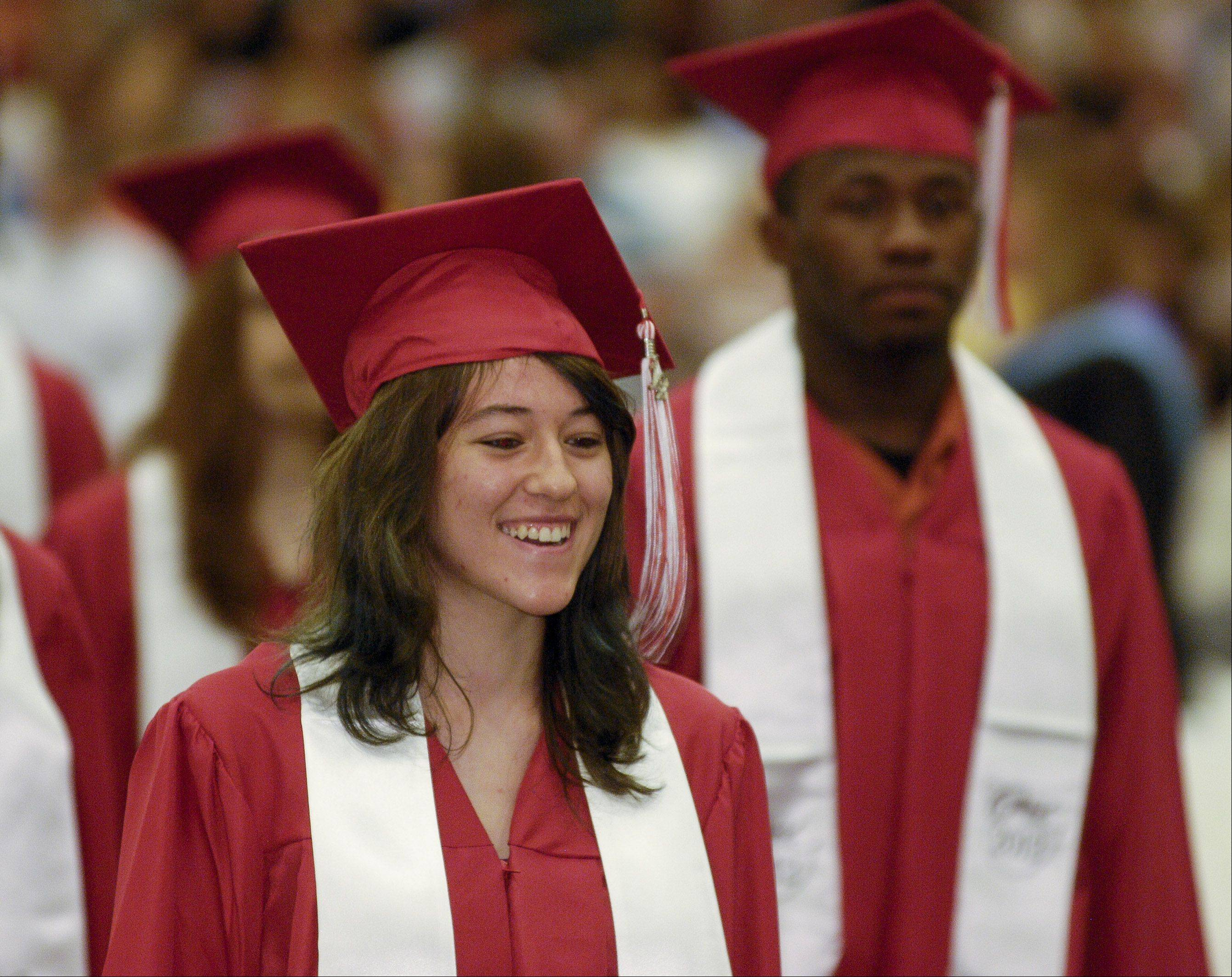 Glenbard East High School held its graduation Sunday June 3 at the College of DuPage in Glen Ellyn.