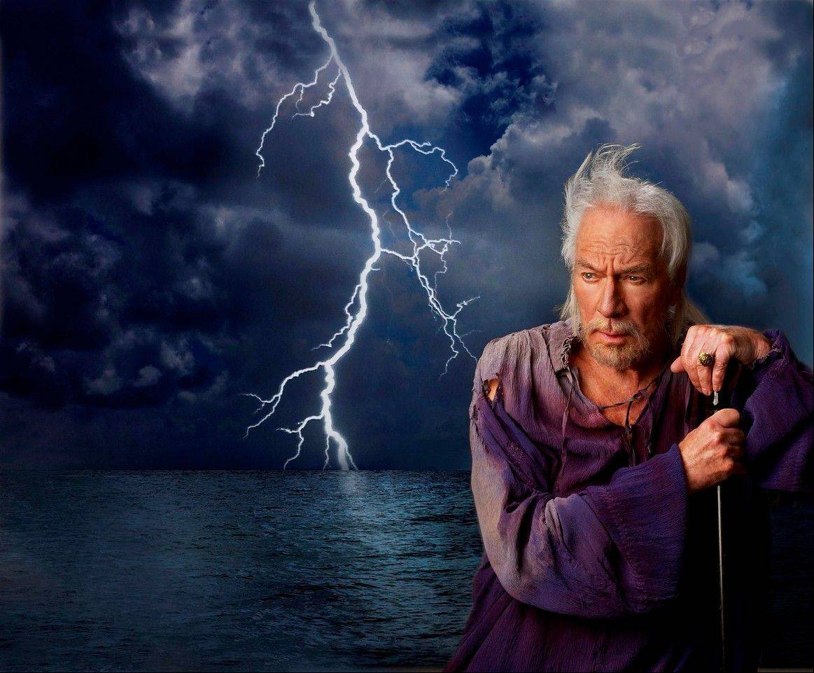 "Academy Award-winner Christopher Plummer stars as Prospero in Shakespeare's ""The Tempest,"" which will be presented in participating movie theaters in a simulcast from the Stratford Shakespeare Festival in Ontario, Canada, on Thursday, June 14."