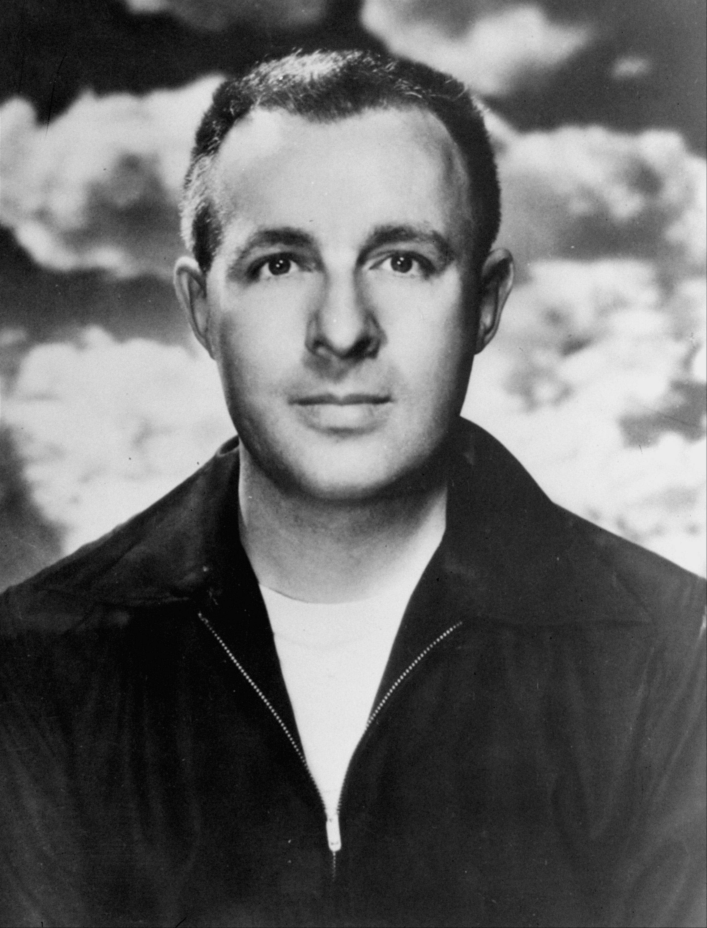 Ray Bradbury of Los Angeles, science fiction novelist.