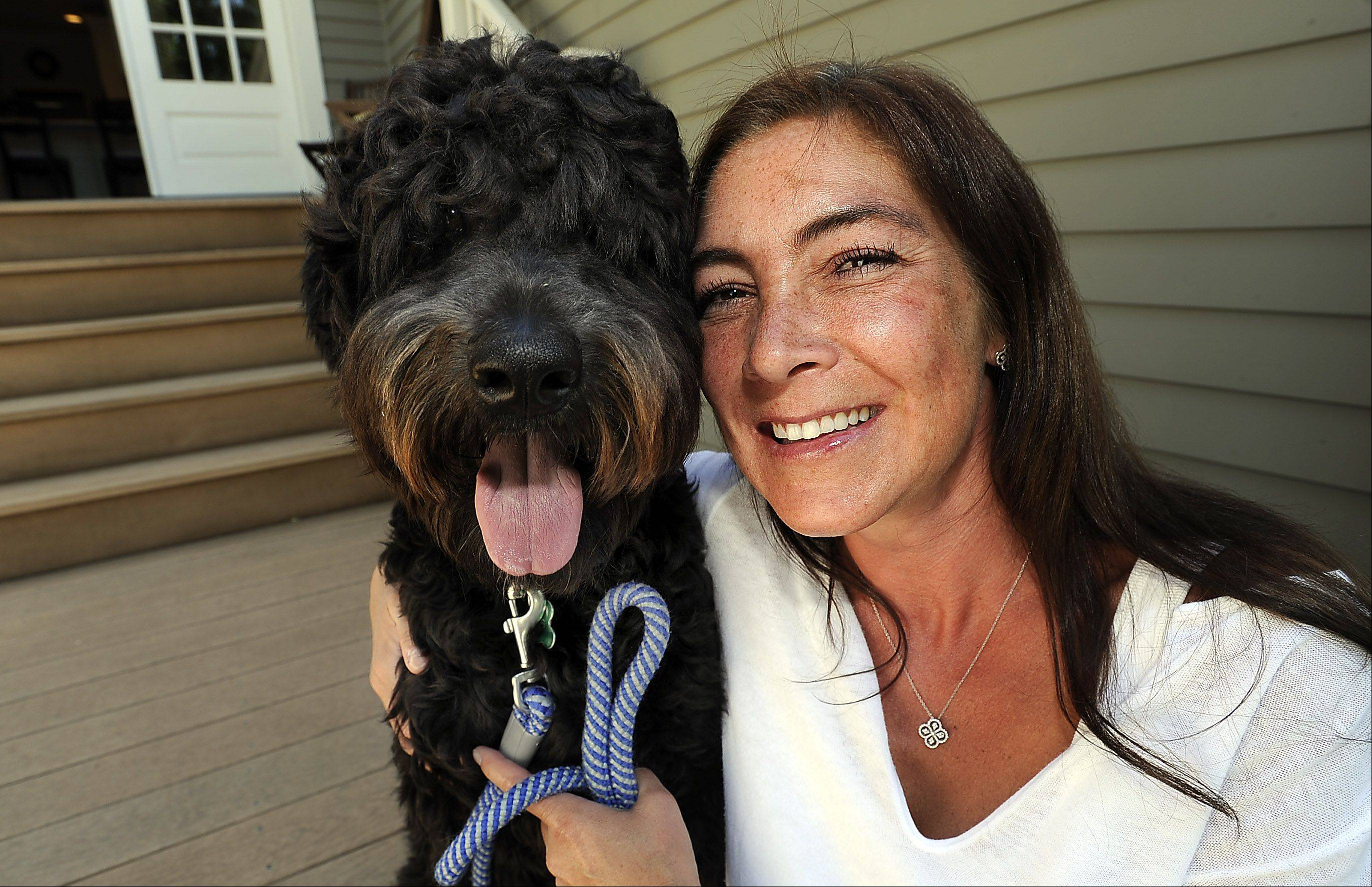 Barrington's Megan Wiersma broke her tooth when her dog, Moses, pulled on his leash, causing her to fall face-first to the ground. Moses redeemed himself the next day when he retrieved the broken tooth and dropped it at Wiersma's feet.