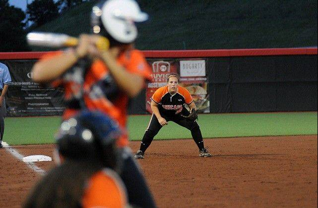Alisa Goler, Chicago Bandits third baseman, will be counted on to provide power and defense this season.