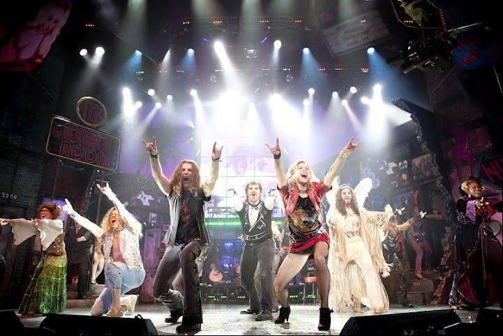"Audience favorite ""Rock of Ages,"" a nostalgic sendup of 1980s music excess, returns to Chicago for the third time in two years in an extended run at Chicago's Broadway Playhouse."