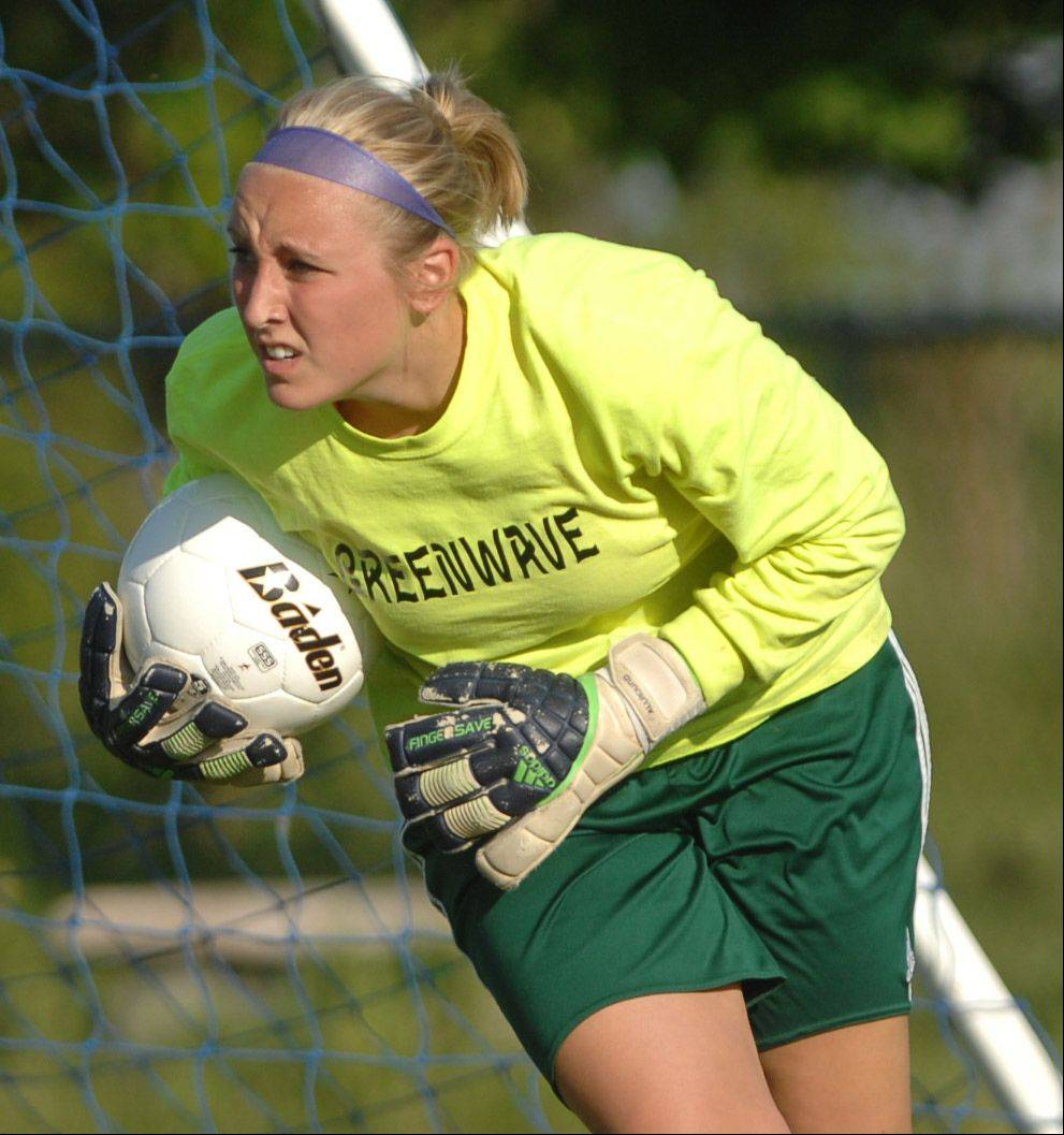 Paige Gannon of St. Edward .