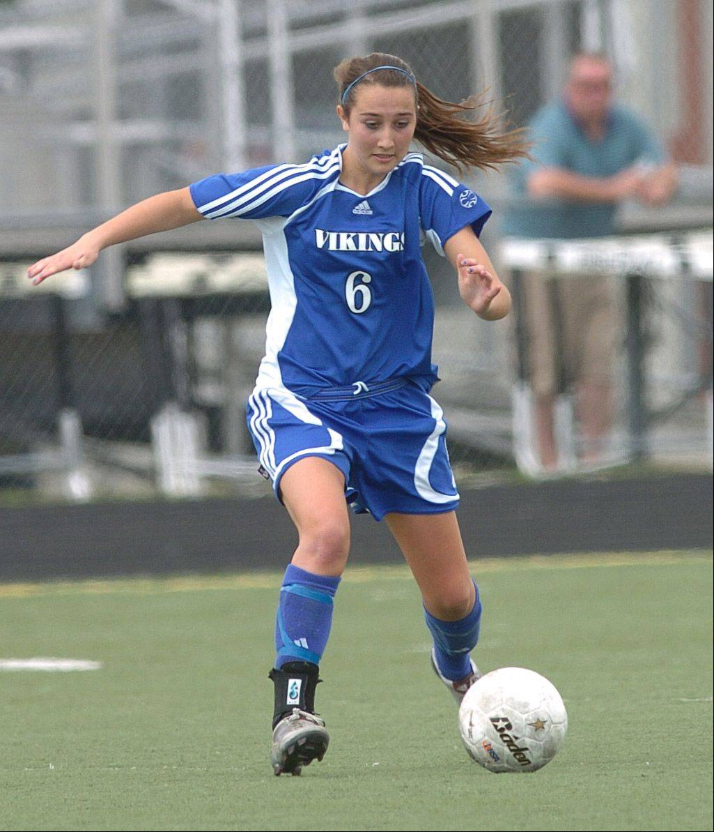 Geneva Vikings' Catherine Allon.