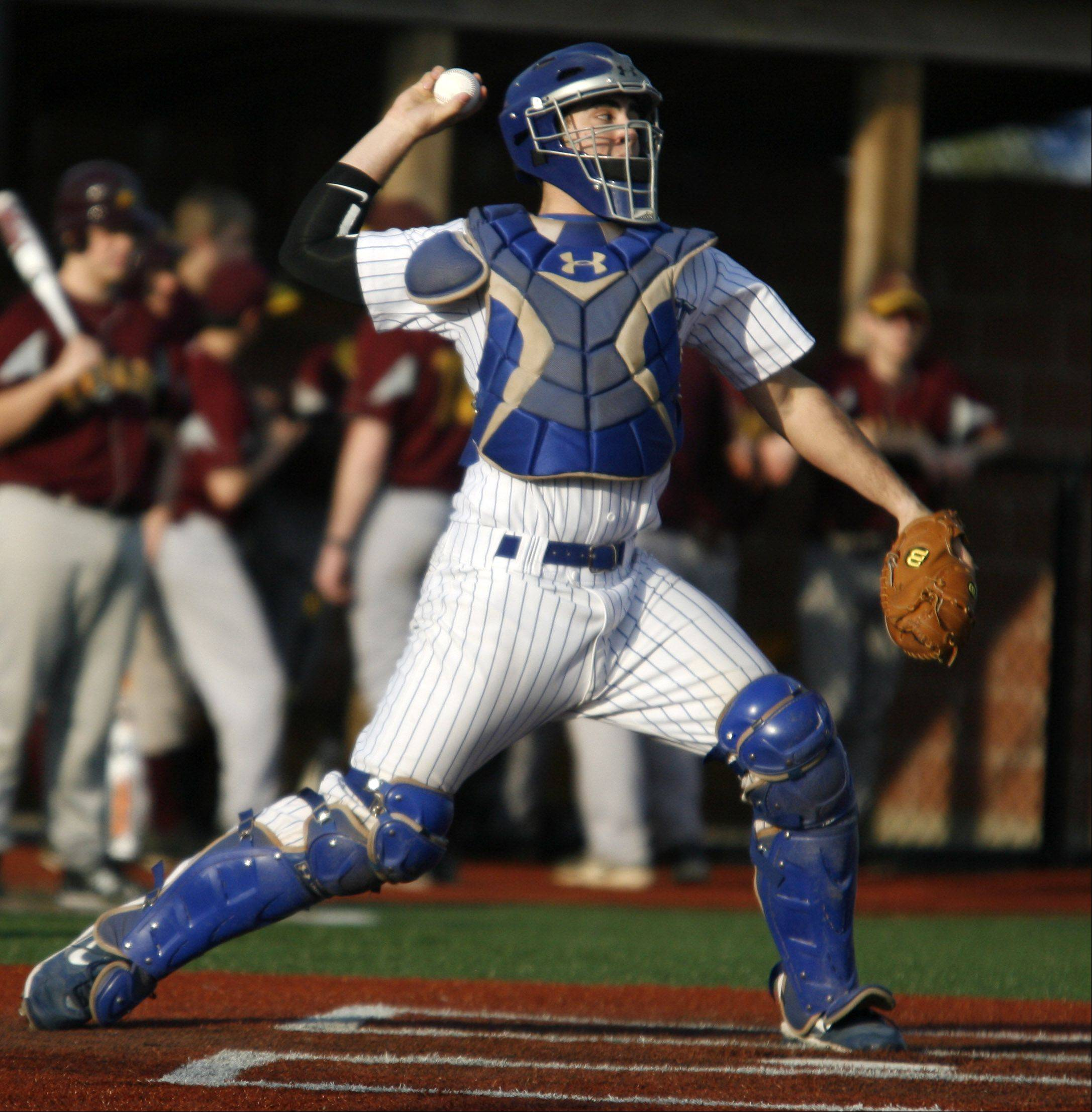 Vernon Hills catcher Chris Marras.