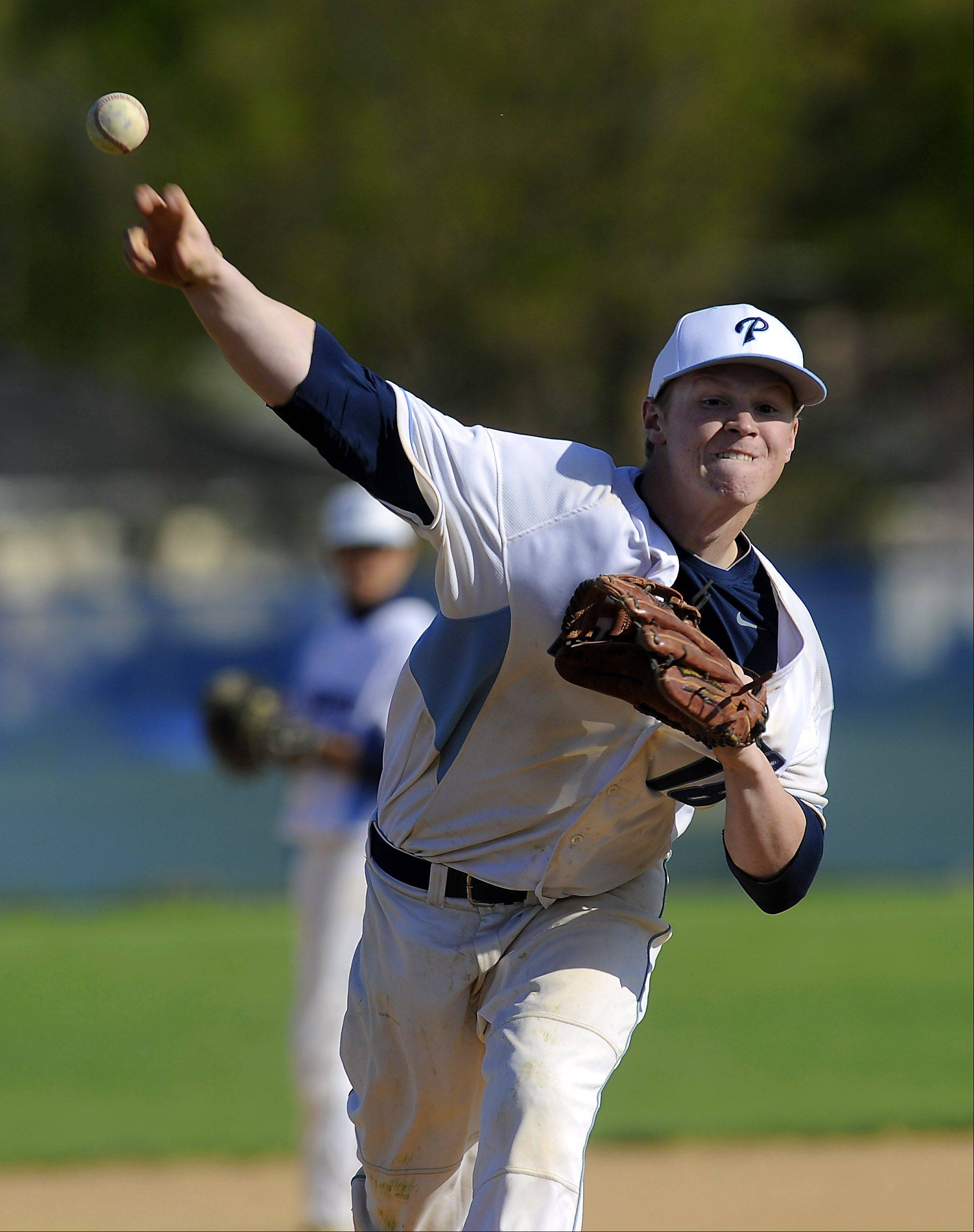 Prospect's Jack Landwehr produced a second straight season of dominance on the mound this spring.