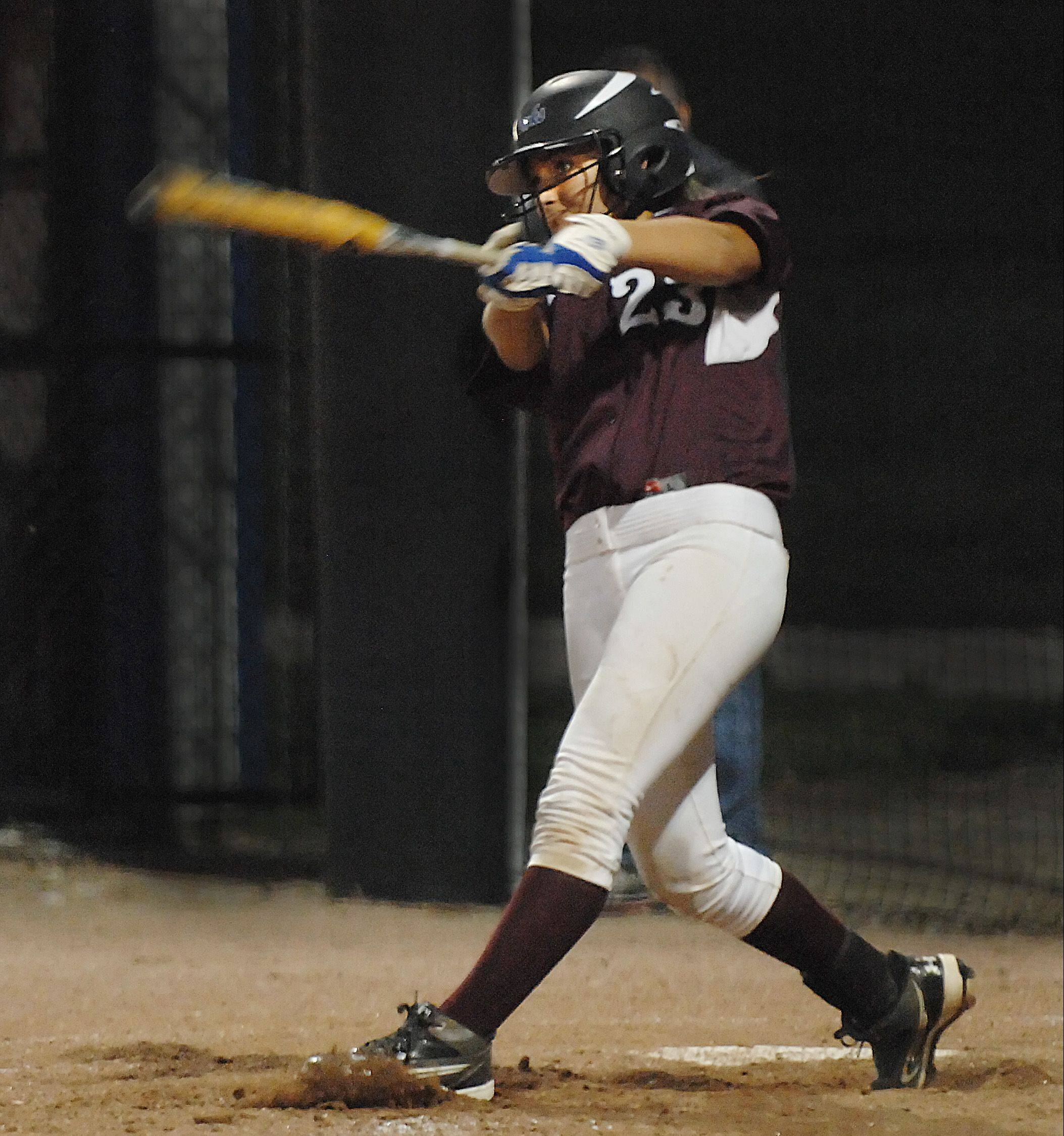 Elgin senior Hannah Perryman is the honorary captain of the 2012 Daily Herald Fox Valley all-area softball team.