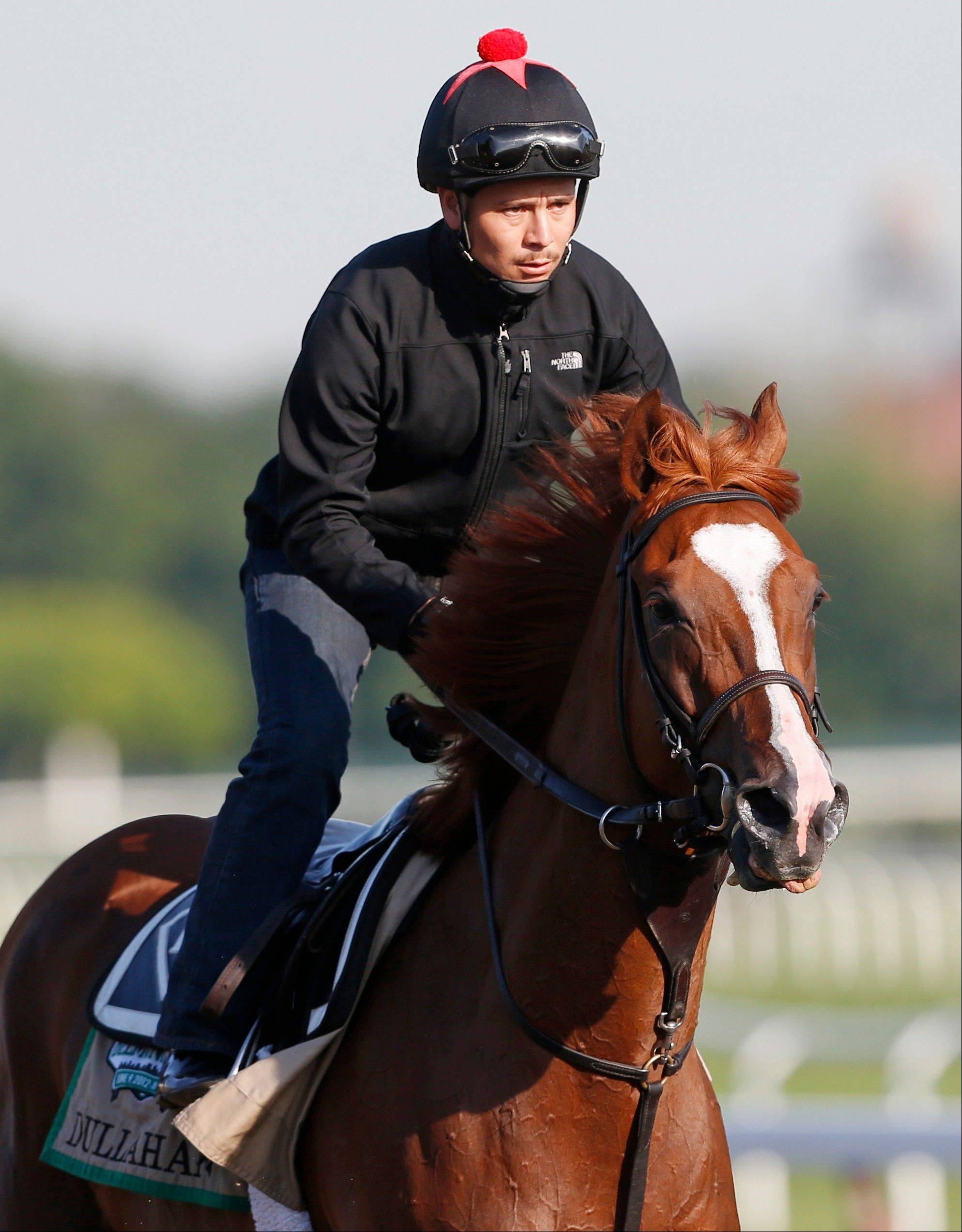 Dullahan becomes favorite for Belmont Stakes
