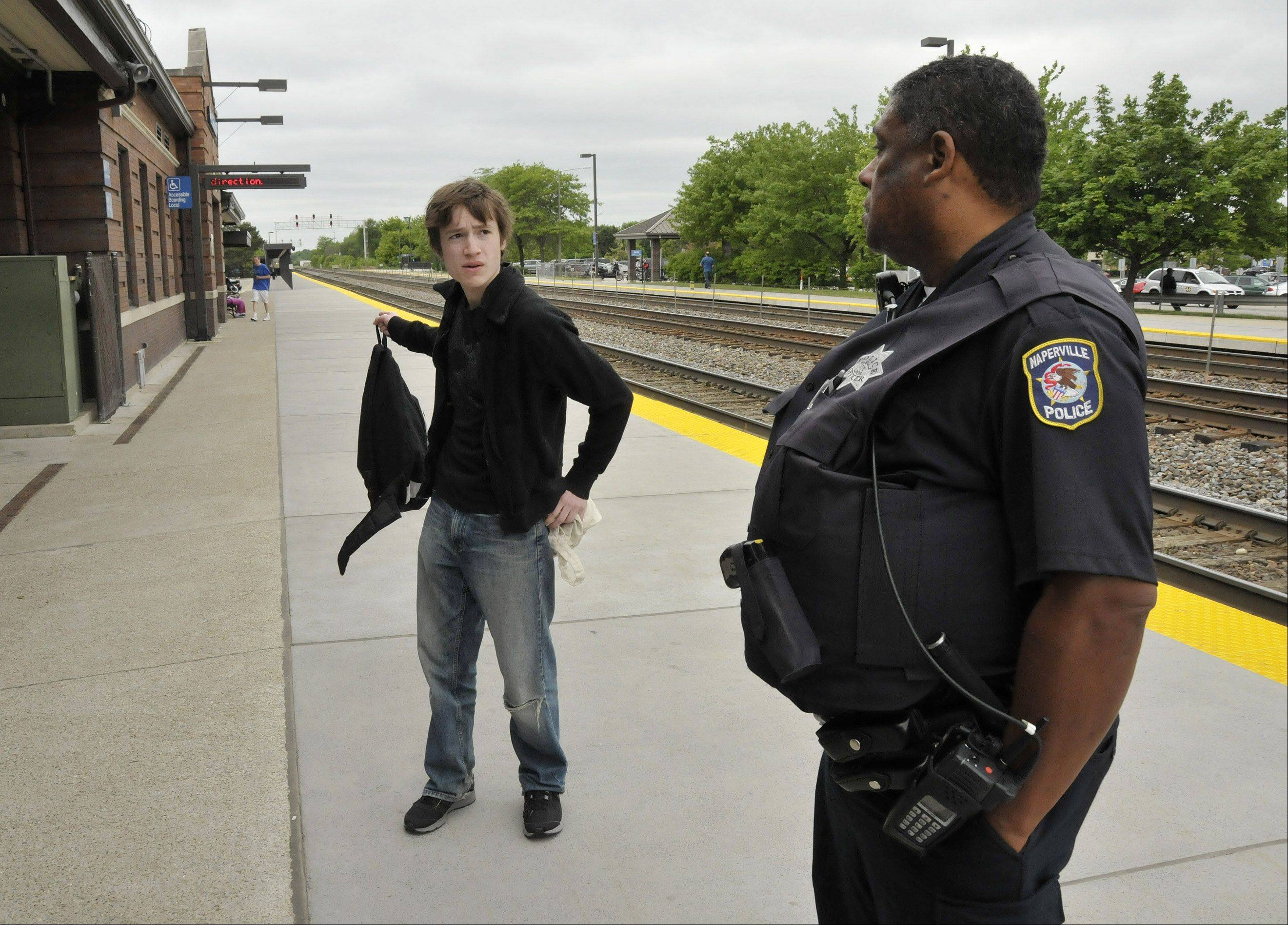 Extra security and lost fares cost Metra $800,000 during the NATO summit.