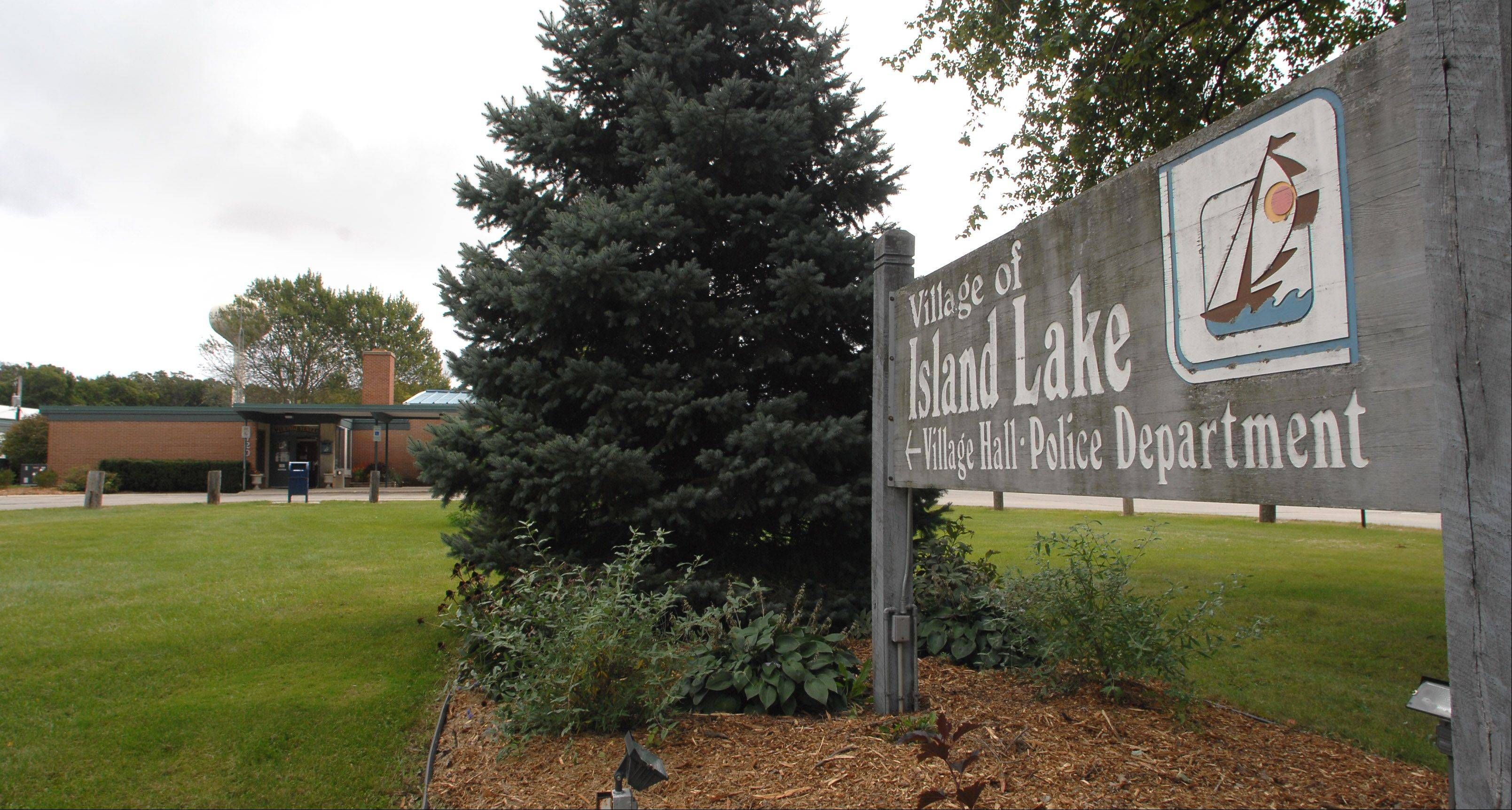 Island Lake officials are considering relocating village hall and the town's police station. They now share a building on Greenleaf Avenue.