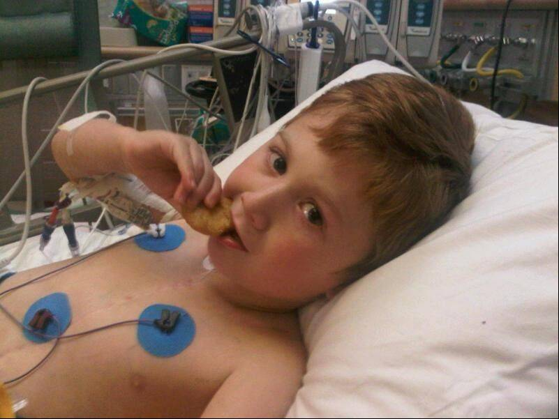 Lombard boy part of Children's Hospital move