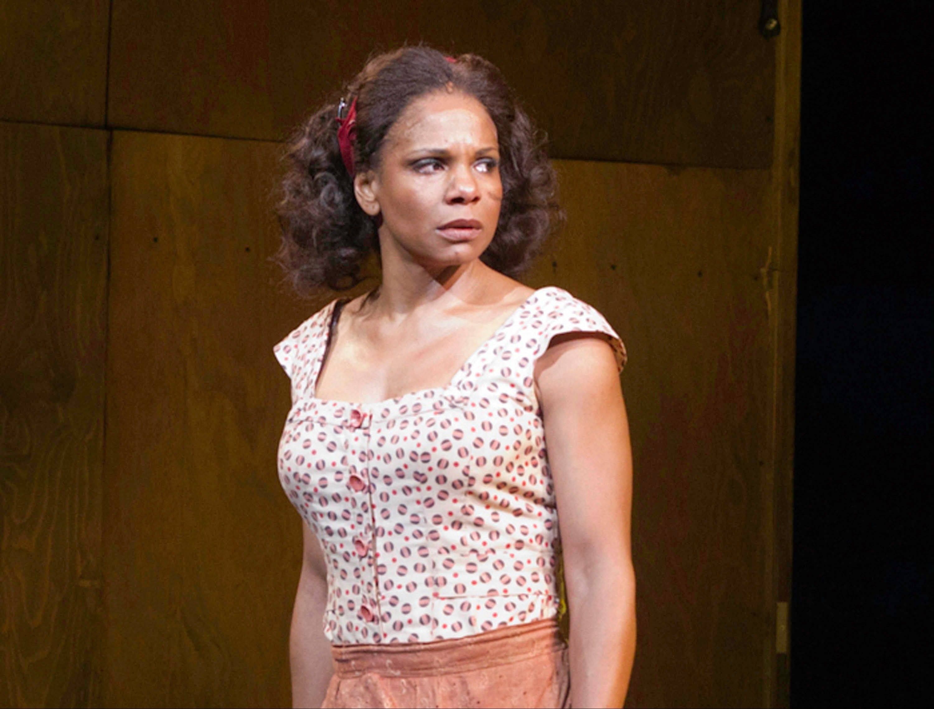 "Audra McDonald is nominated for best actress in a musical Tony for ""The Gershwins' Porgy and Bess."""