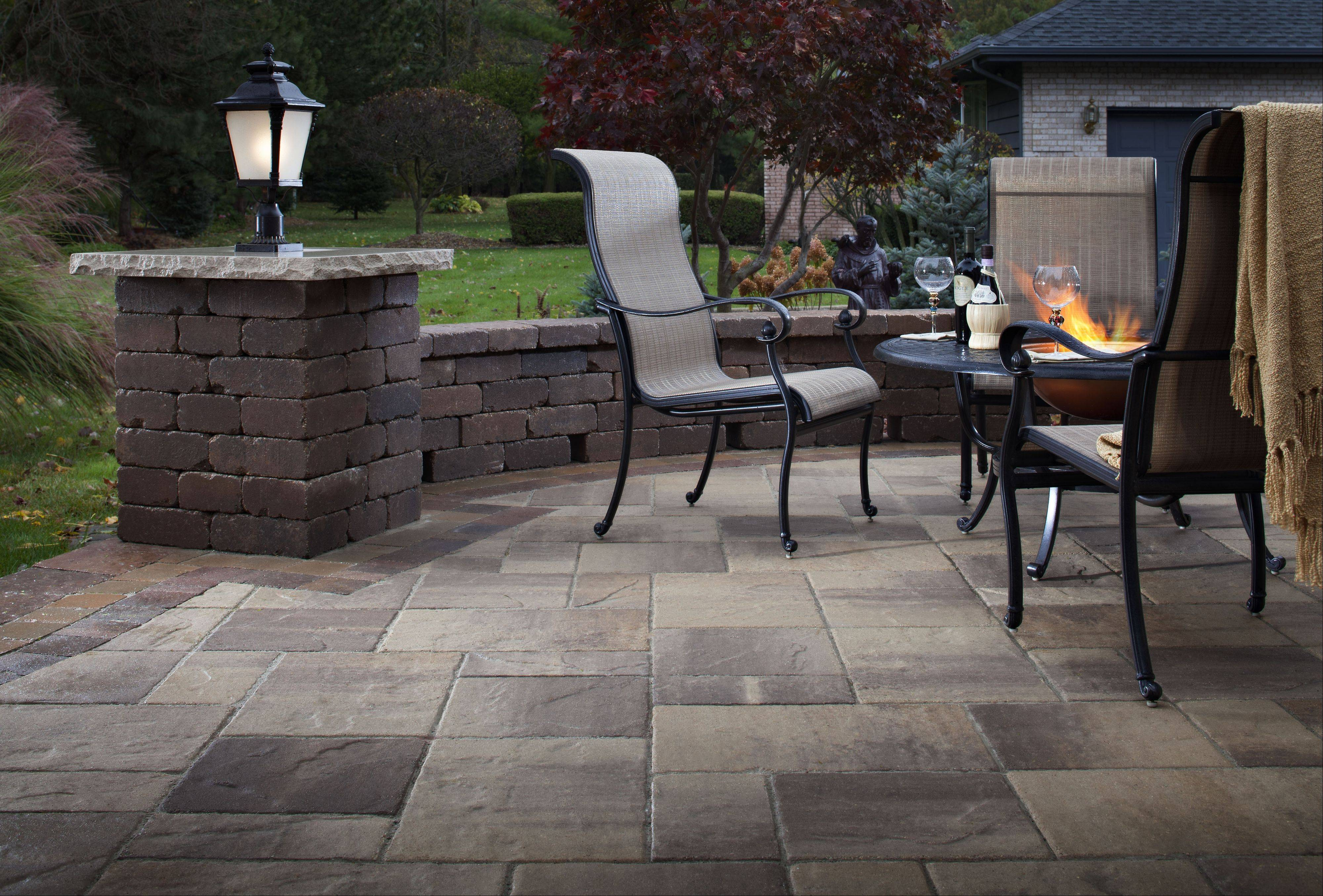 Concrete pavers are available in a variety of styles, shapes and sizes.
