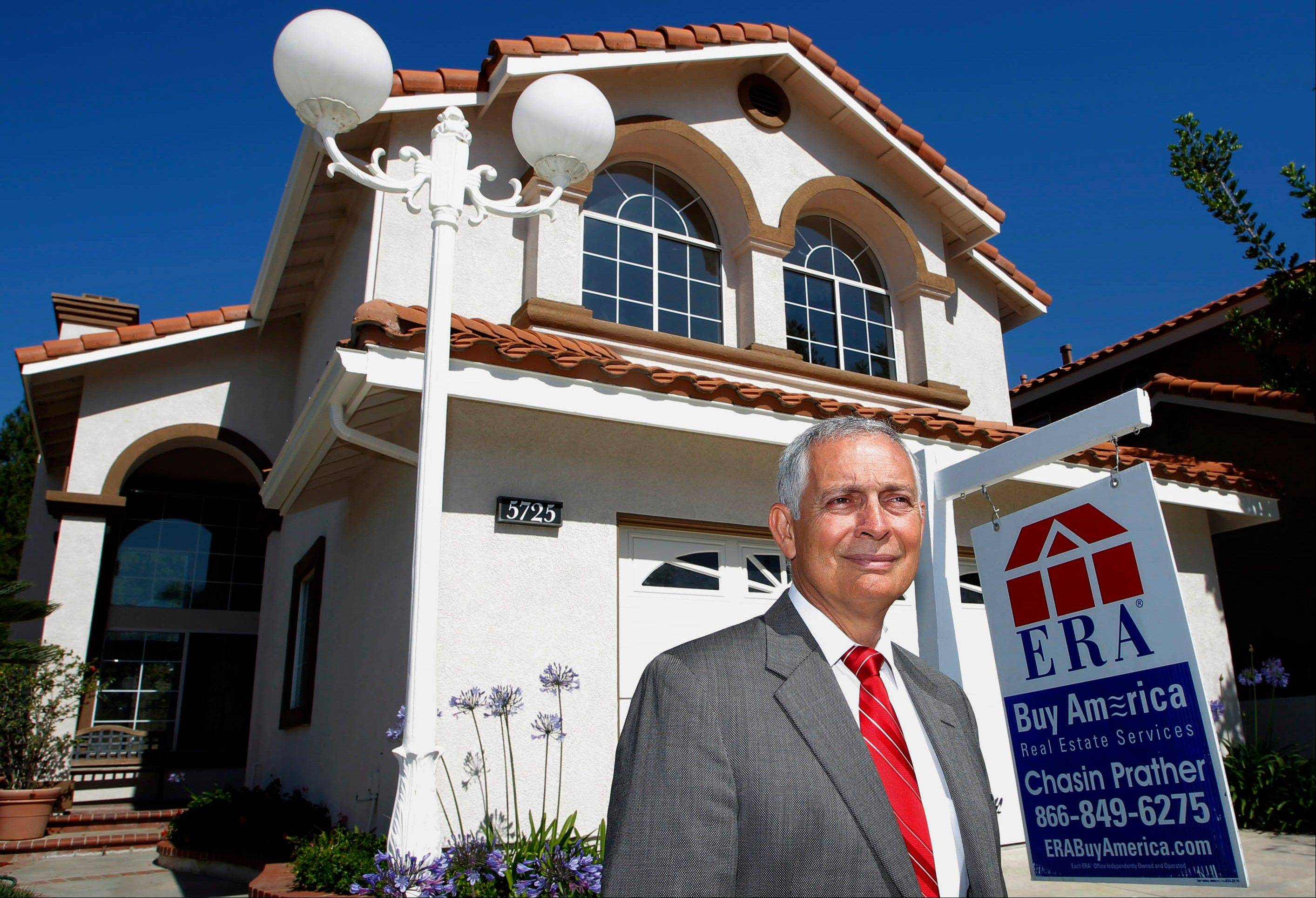 Mark Prather an ERA broker in Yorba Linda, Calif. Across the country, realtors and builders, many of whom are small businesses, are seeing a sales comeback.