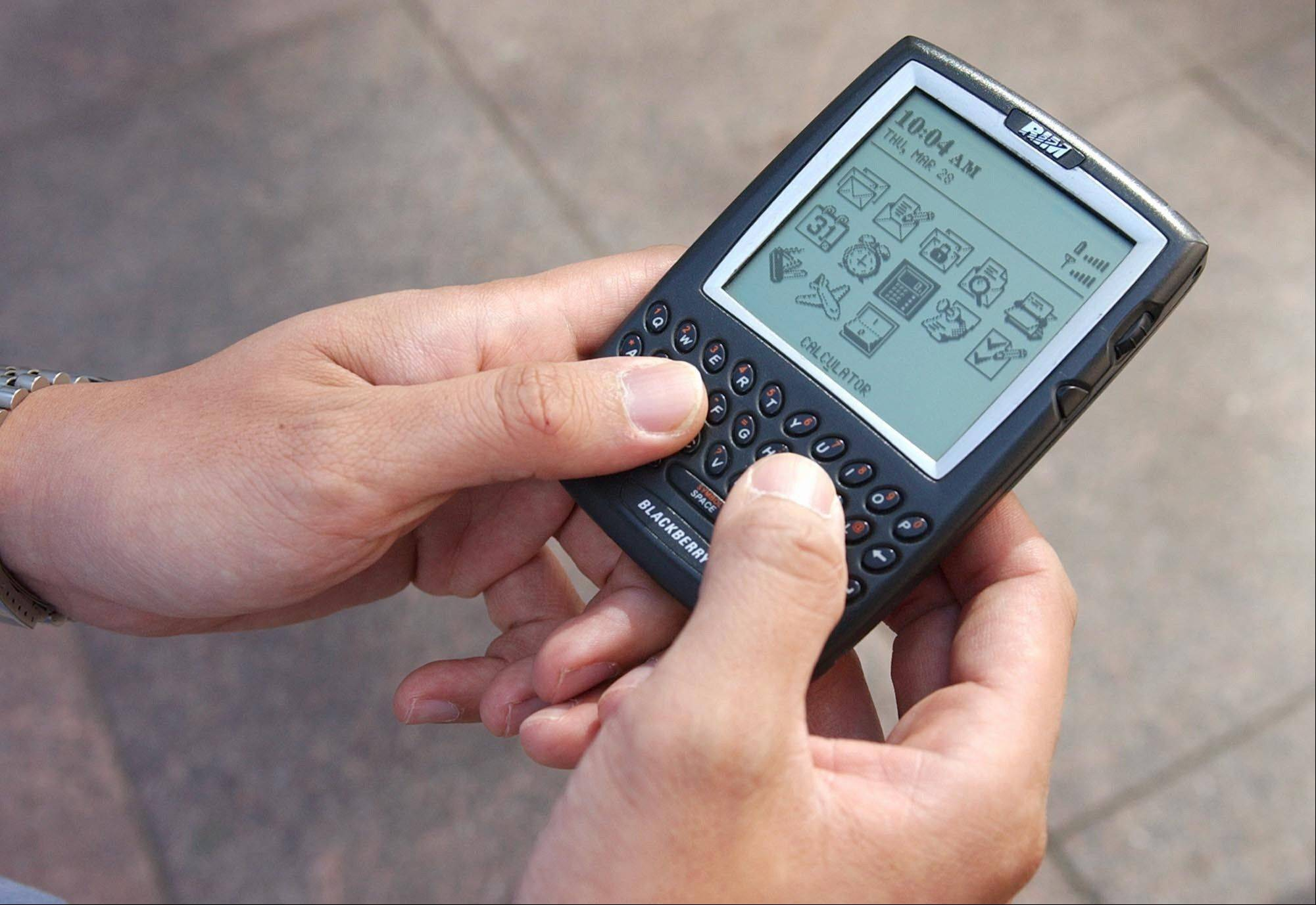 There is talk that the fate of Research In Motion, the company that fathered the BlackBerry in 1999, is no longer certain as its flagship property rapidly loses market share to flashier phones like Apple's iPhone and Google's Android-driven models.