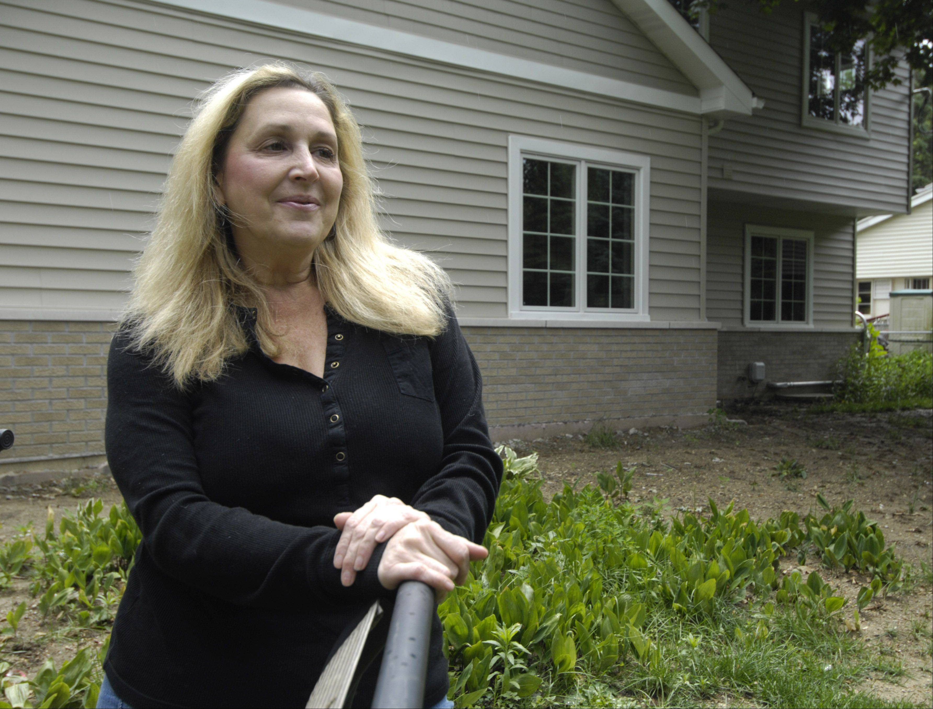 Sharon Zeeck and her family have won a makeover for the backyard of their Prospect Heights home.