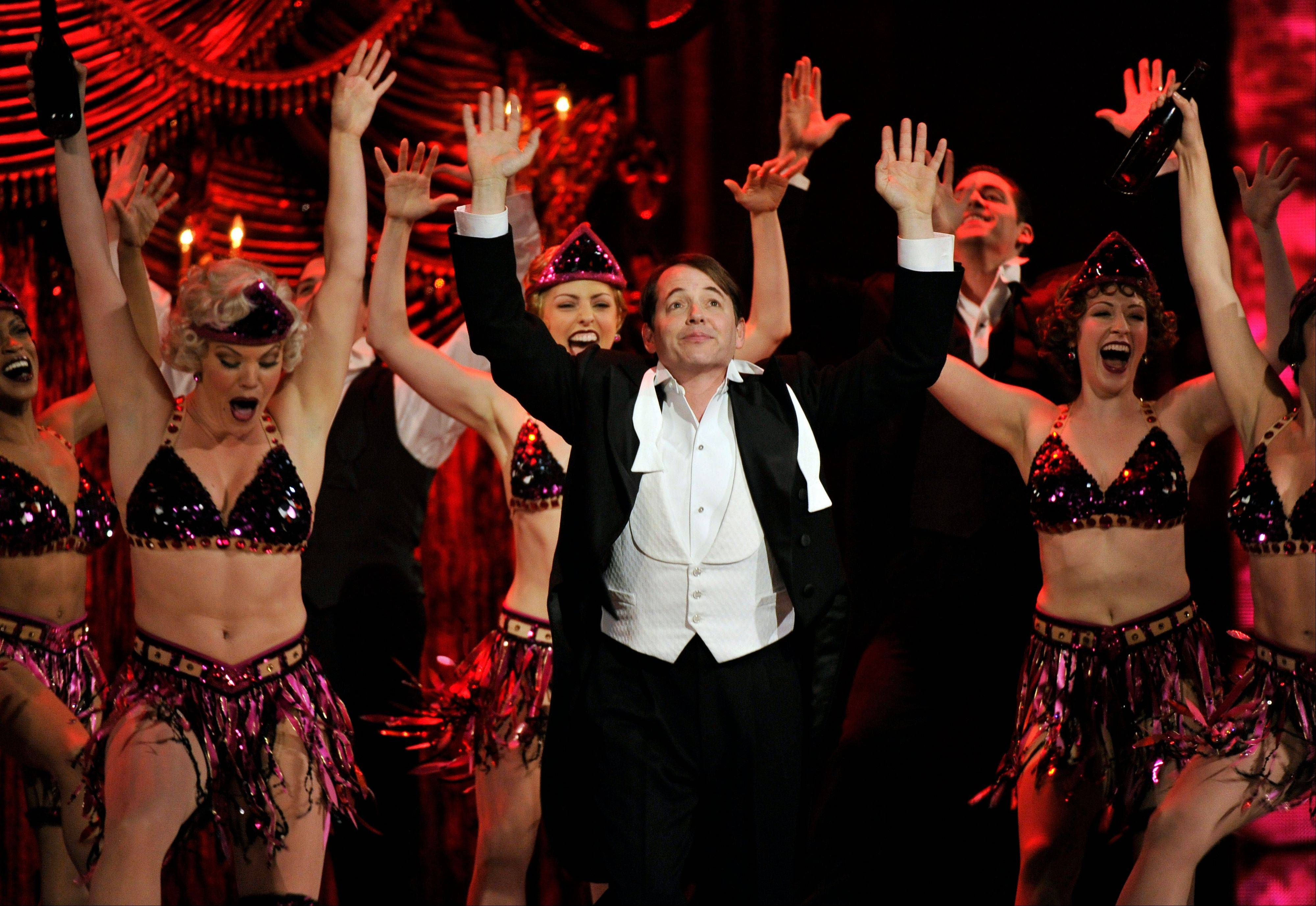 "Matthew Broderick and the cast of ""Nice Work If You Can Get It"" perform at the 66th Annual Tony Awards on Sunday in New York."
