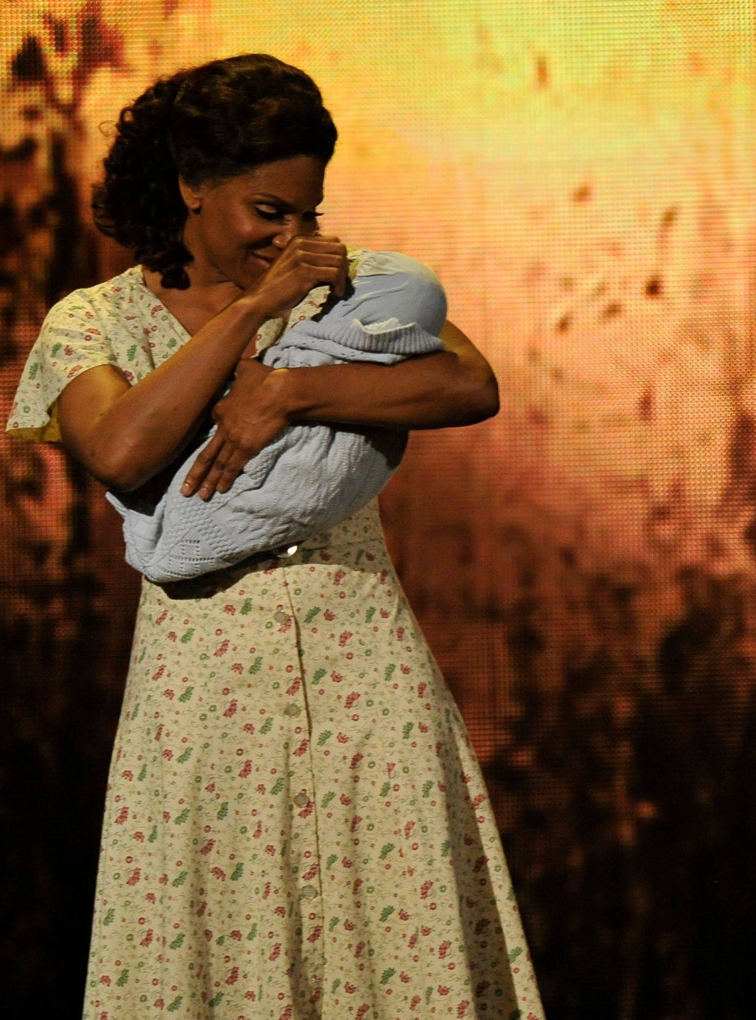 "Audra McDonald performs a scene from ""The Gershwins' Porgy and Bess"" at the 66th Annual Tony Awards. The production won a Tony Award for best revival of a musical and McDonald won for actress in a leading role in a musical."