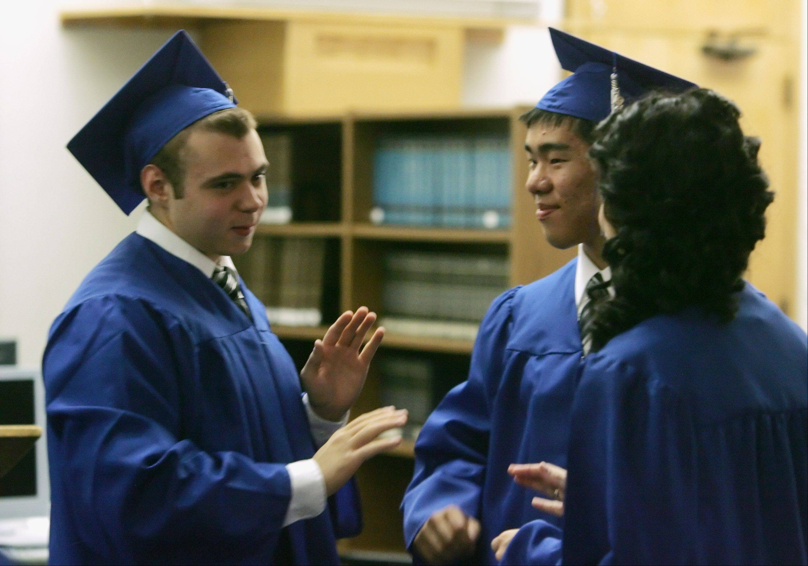 Images from the Christian Liberty Academy graduation on Sunday, June 10th, at the school in Arlington Heights.