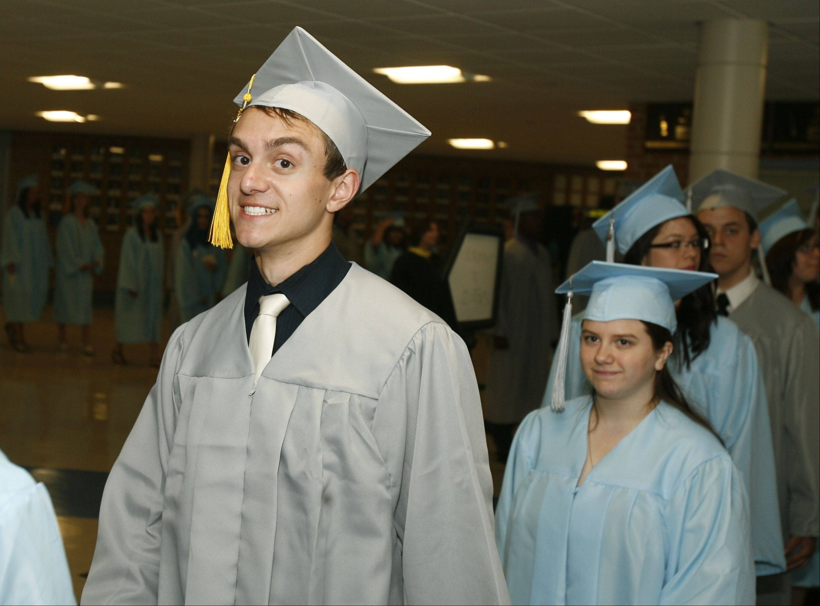 Willowbrook High School held its graduation ceremony Sunday June 10 at Willowbrook High School in Villa Park.