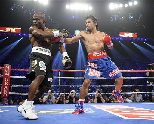 Timothy Bradley won a contested split decision over Manny  Pacquiao, ending the Filipino fighter's remarkable run and handing him his first defeat in seven years. It didn't come easy and it wasn't without controversy, with the pro-Pacquiao crowd booing loudly when the decision was announced.