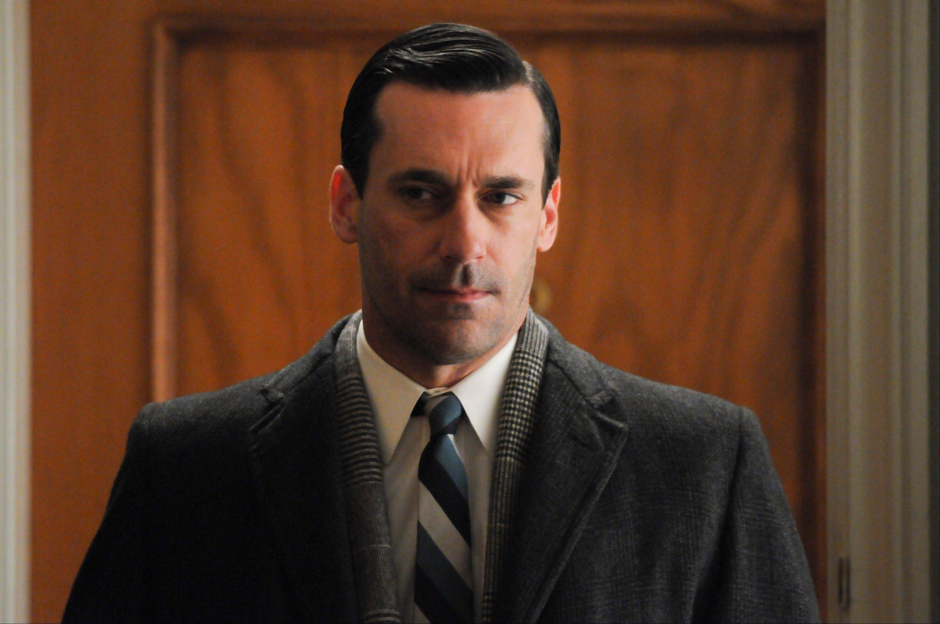 "Don Draper (Jon Hamm) finished the fifth season of ""Mad Men"" unhappy and alone."