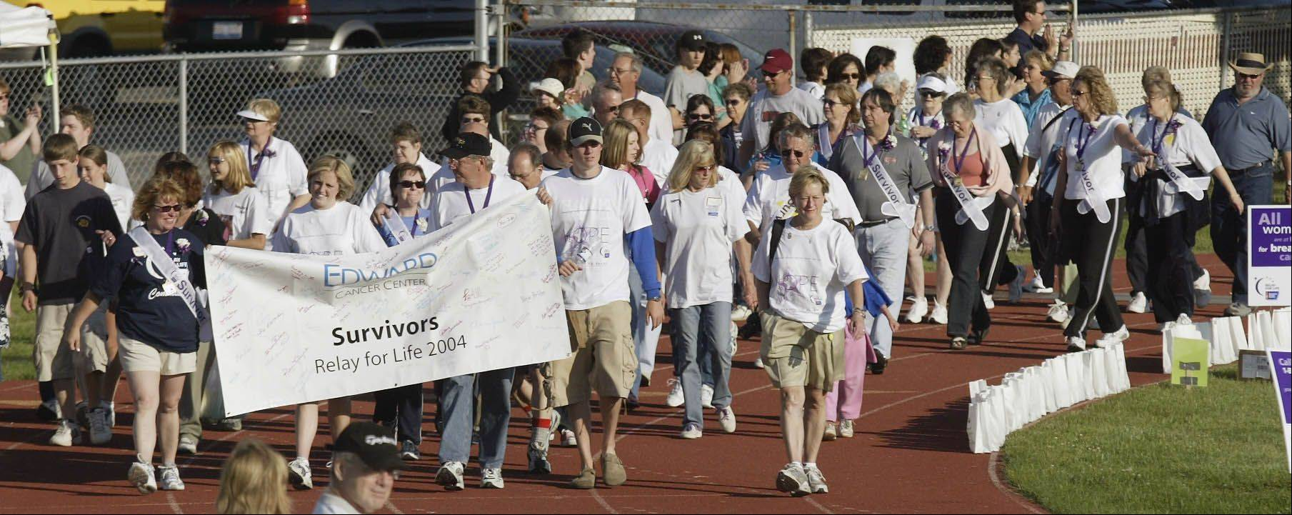 Relay For Life events -- planned throughout the suburbs and throughout the summer -- support the American Cancer Society's efforts to fund research and programs to help cancer patients and their families and caregivers.