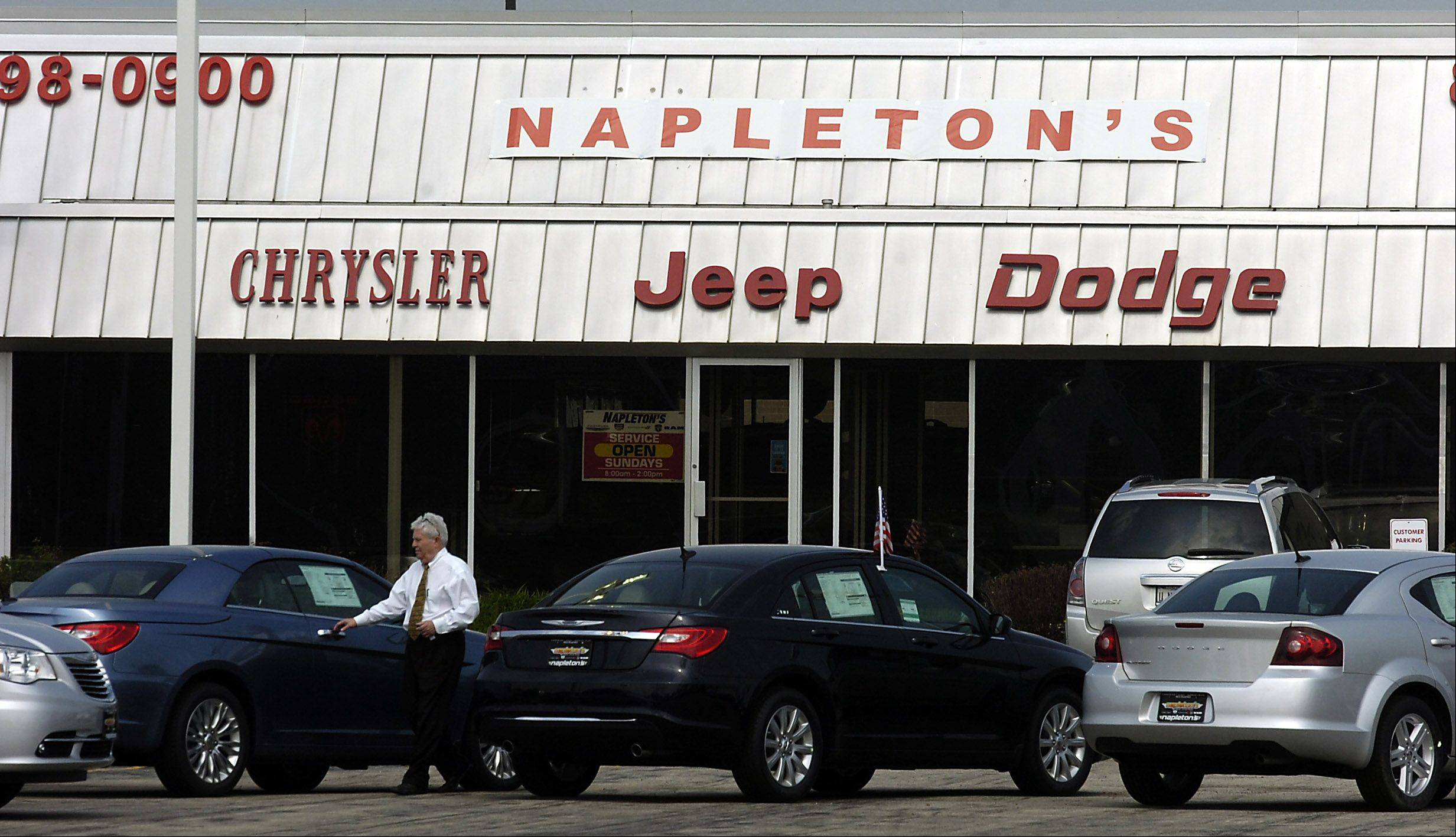 Napleton Chrysler Dodge Jeep Ram In Des Plaines Plans To Move To Dundee  Road In Arlington