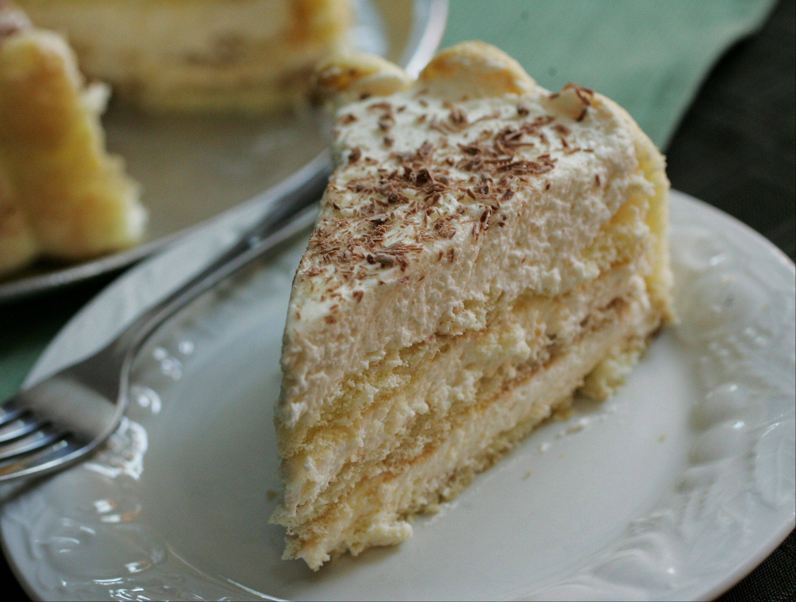 Patricia Kutchins counts tiramisu as one of her most requested desserts.