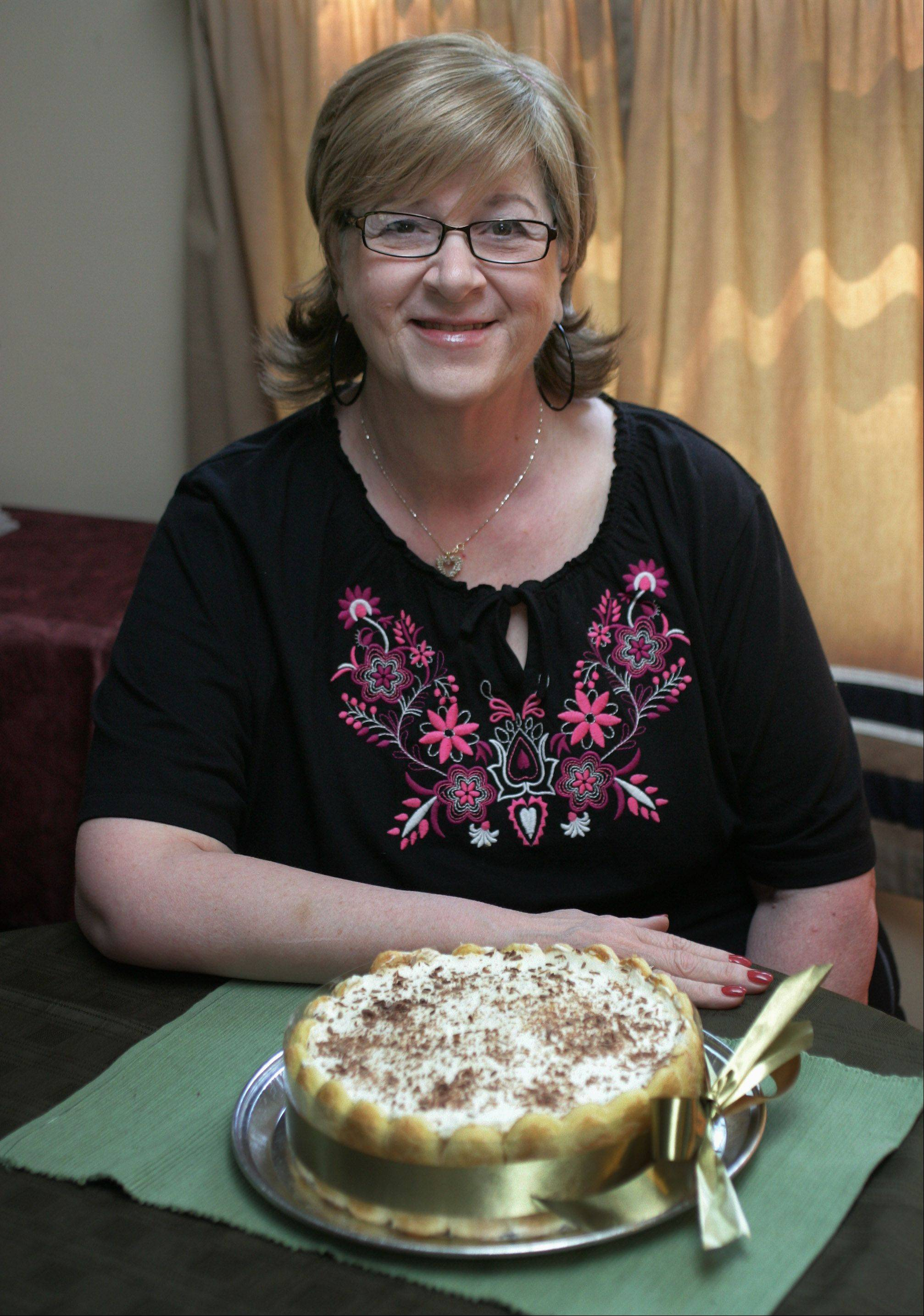 Patricia Kutchins loves to bake so much she has earned the nickname Patty Cake.
